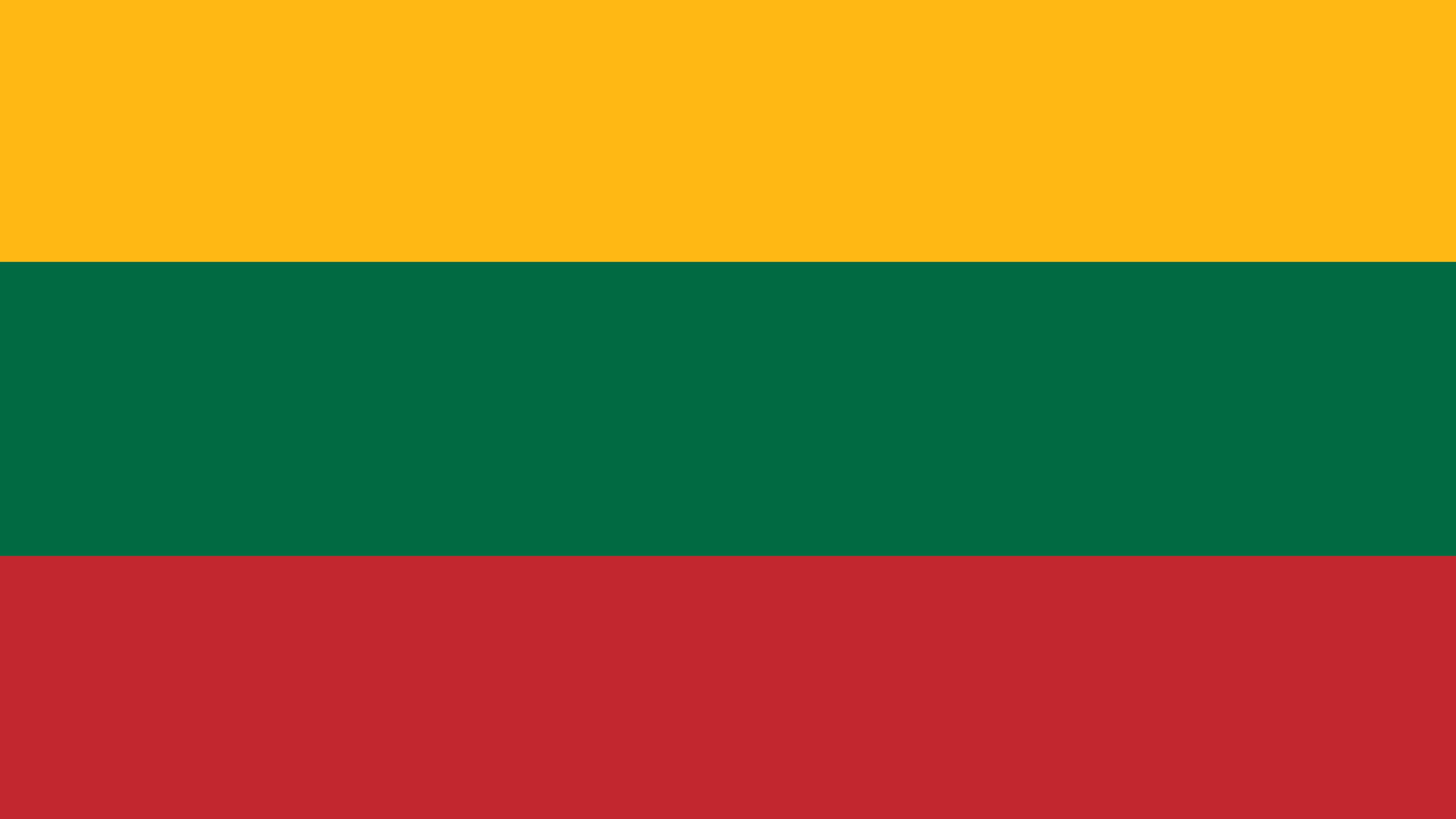 lithuania flag uhd 4k wallpaper