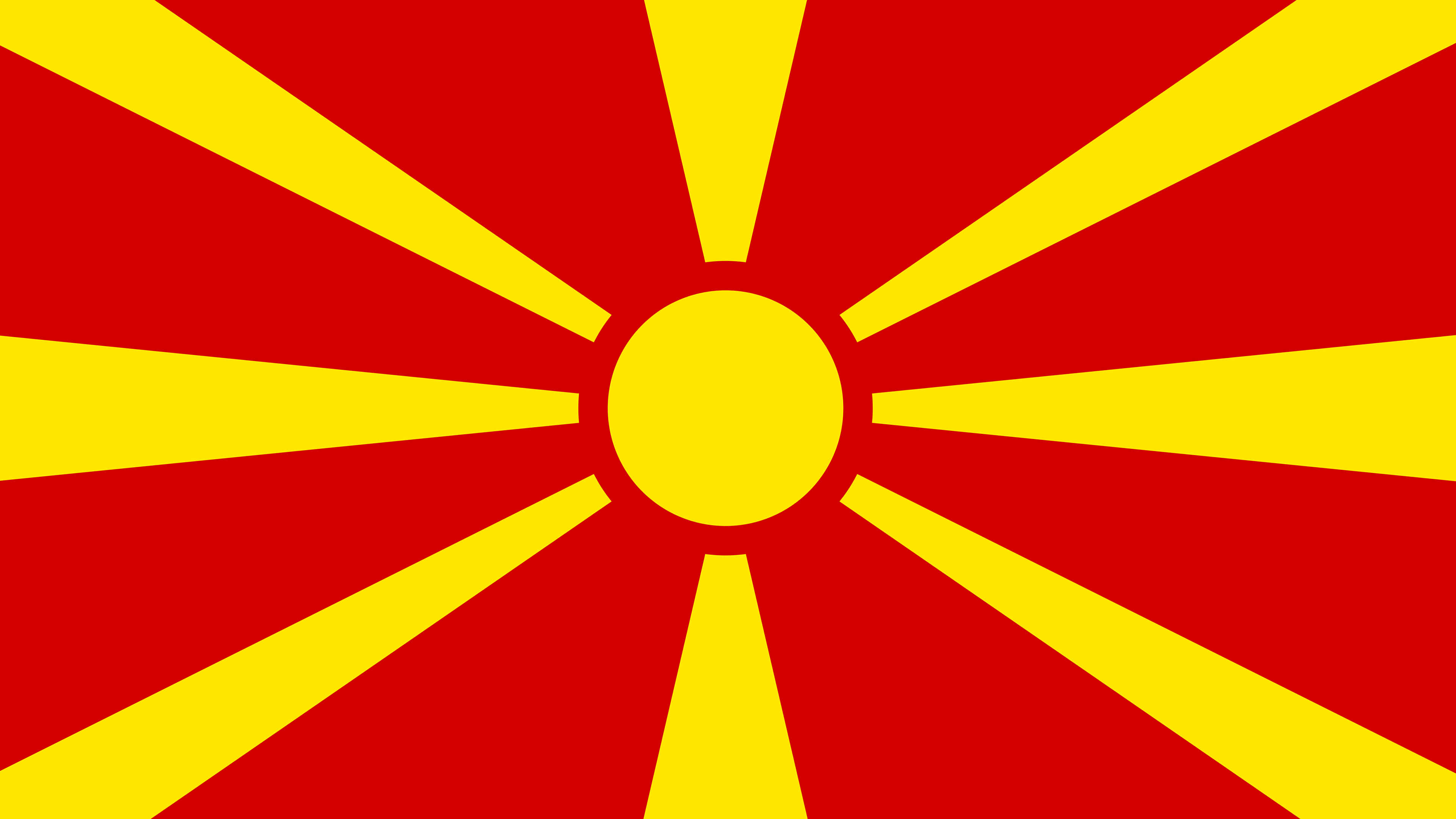 macedonia flag uhd 4k wallpaper