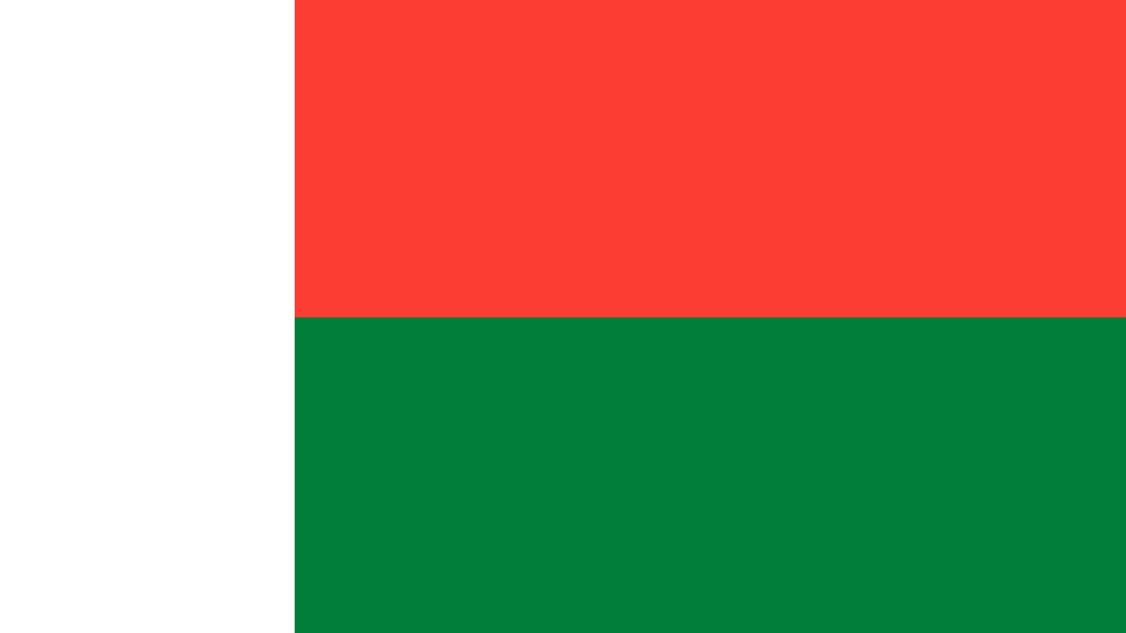 madagascar flag uhd 4k wallpaper