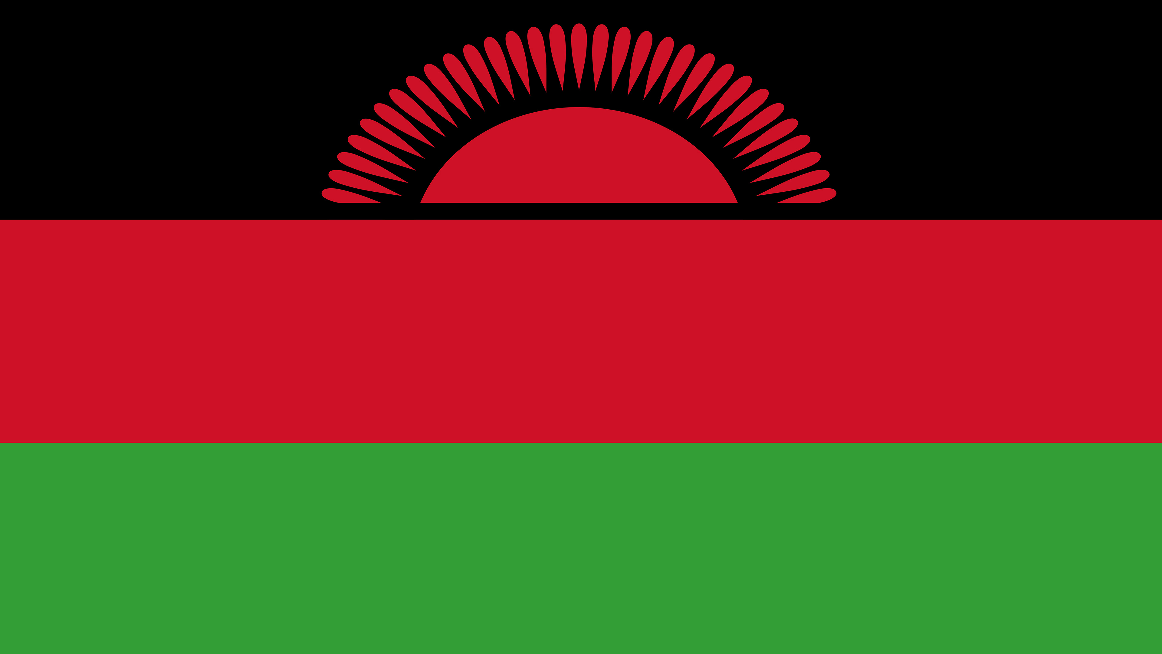 malawi flag uhd 4k wallpaper