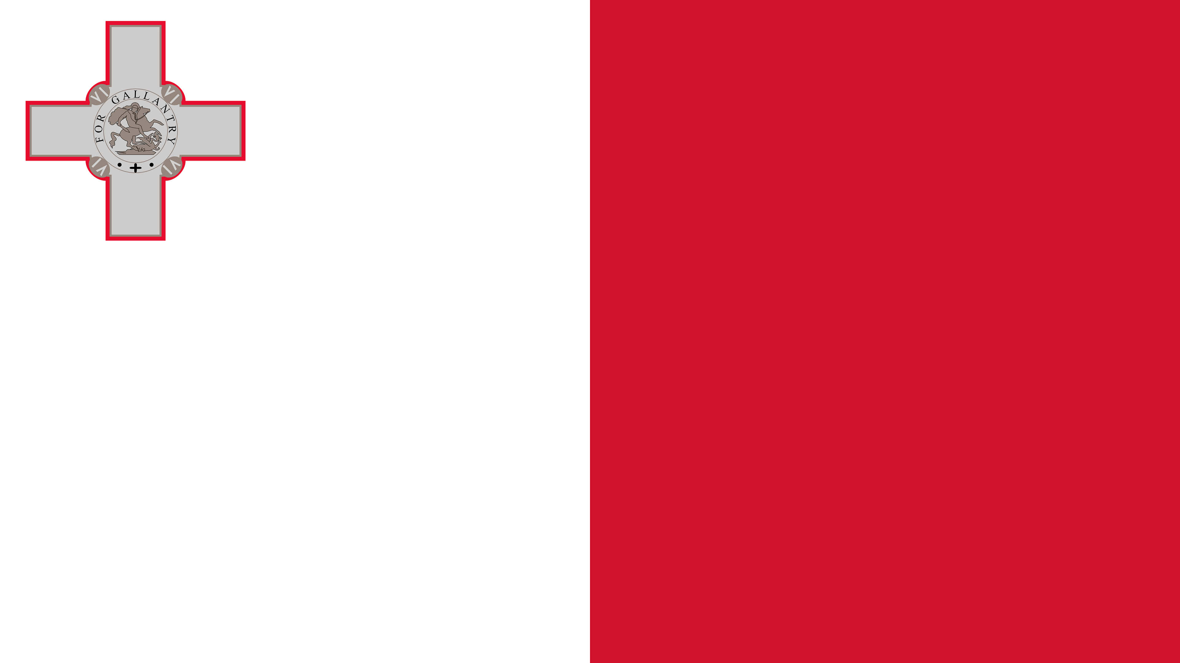 malta flag uhd 4k wallpaper