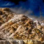 mammoth hot springs yellowstone national park wyoming uhd 4k wallpaper