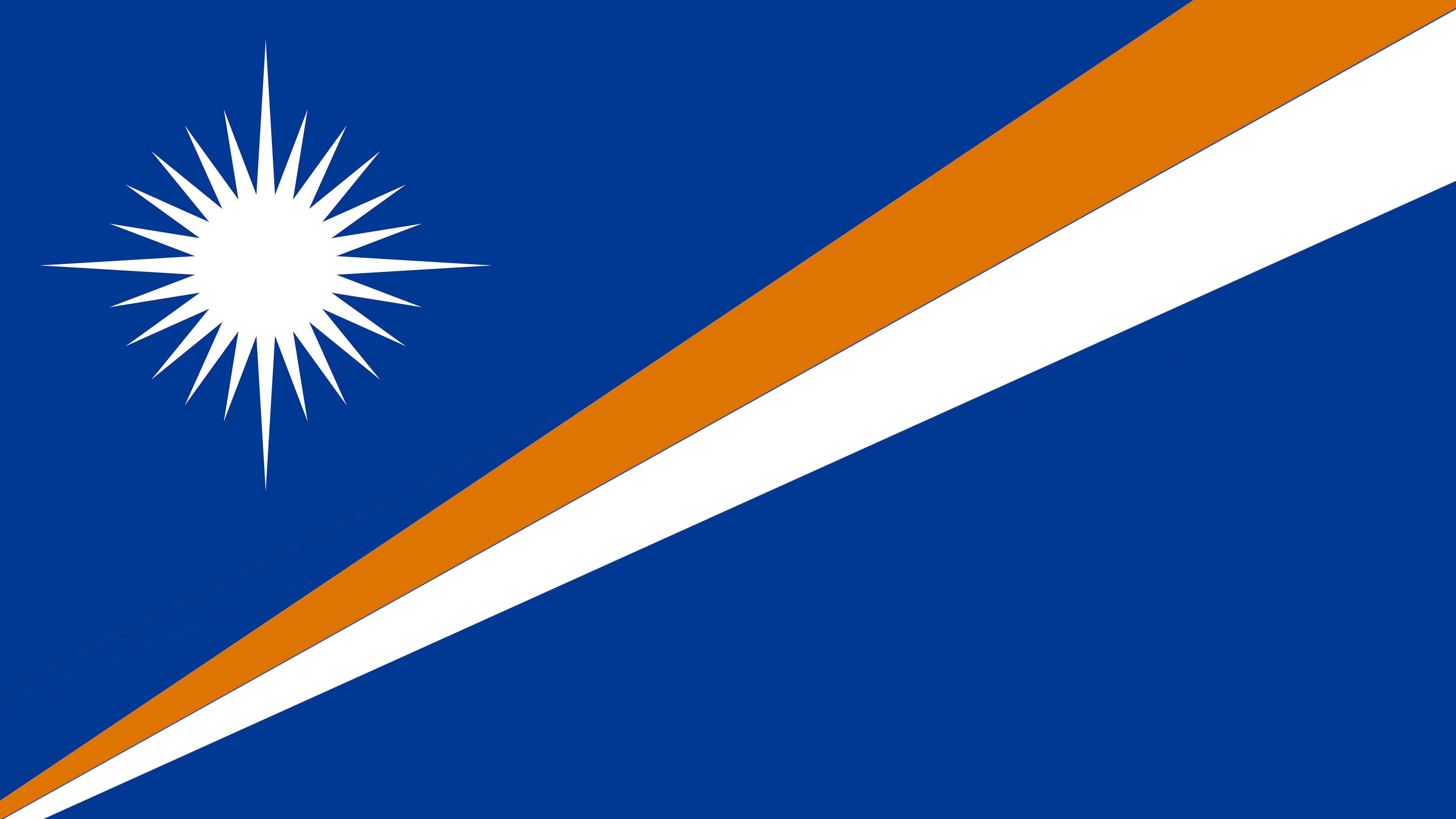 marshall islands flag uhd 4k wallpaper