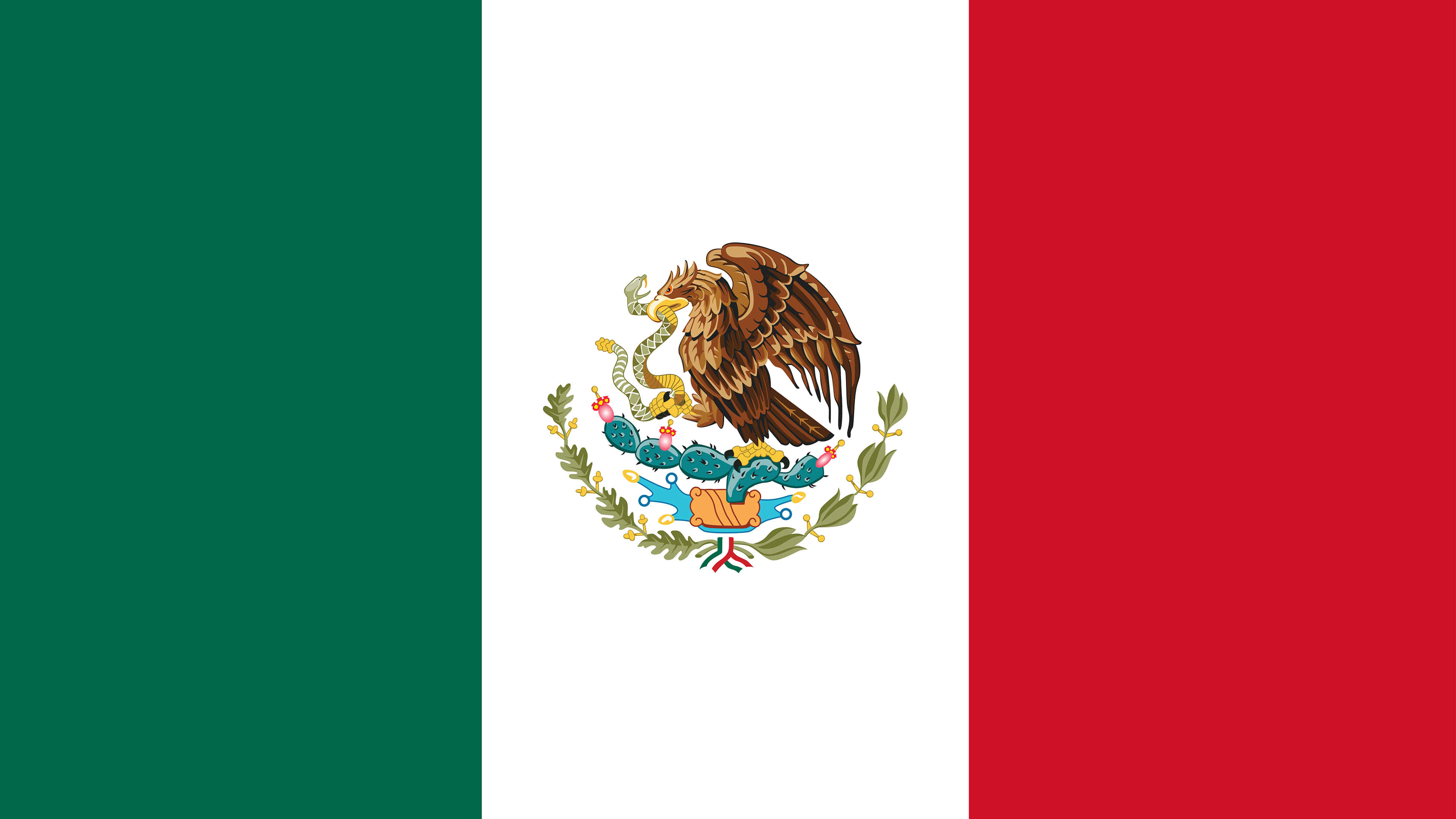 mexico flag uhd 4k wallpaper