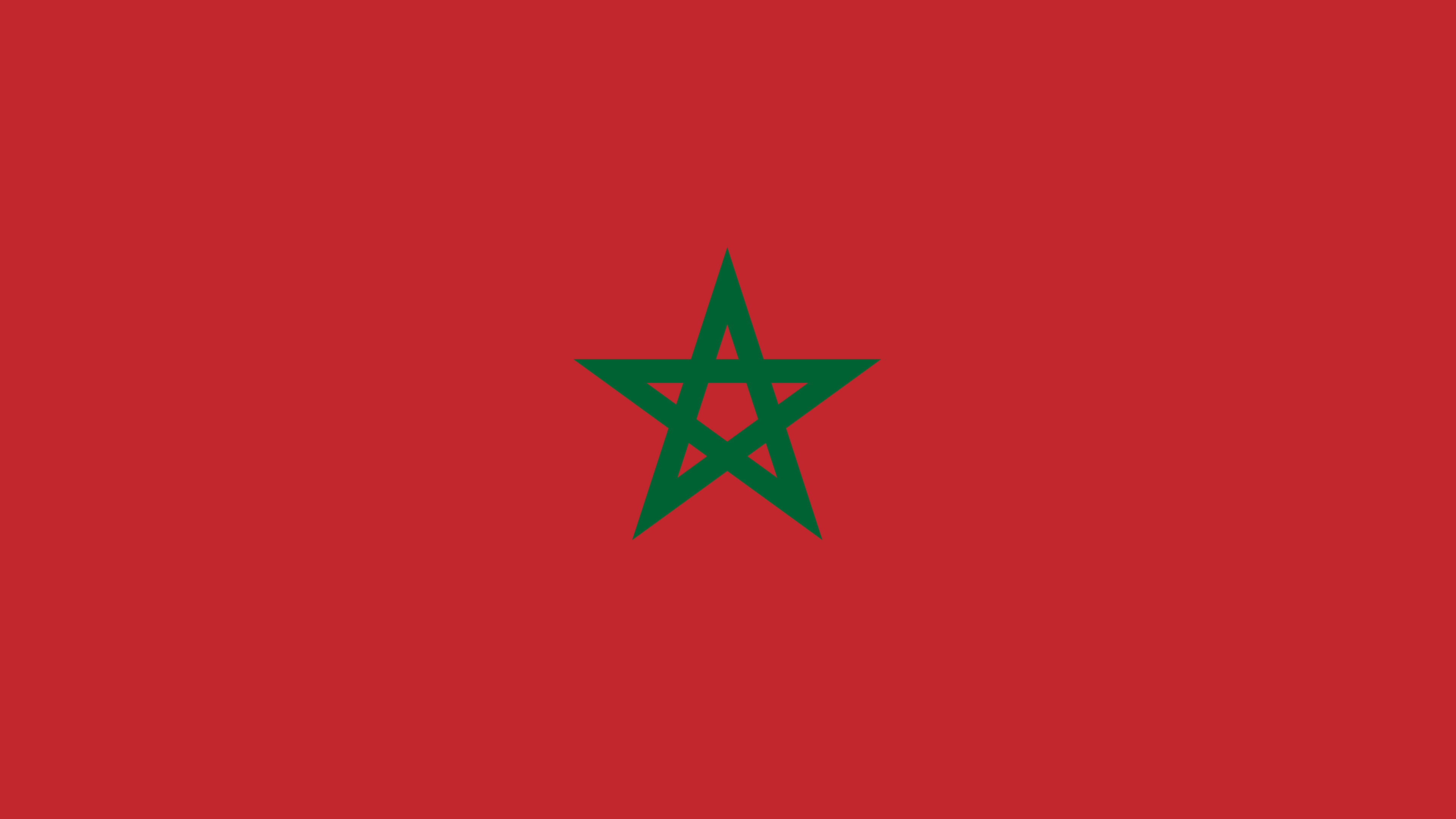 morocco flag uhd 4k wallpaper