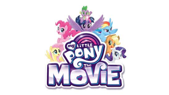 my little pony movie logo uhd 4k wallpaper