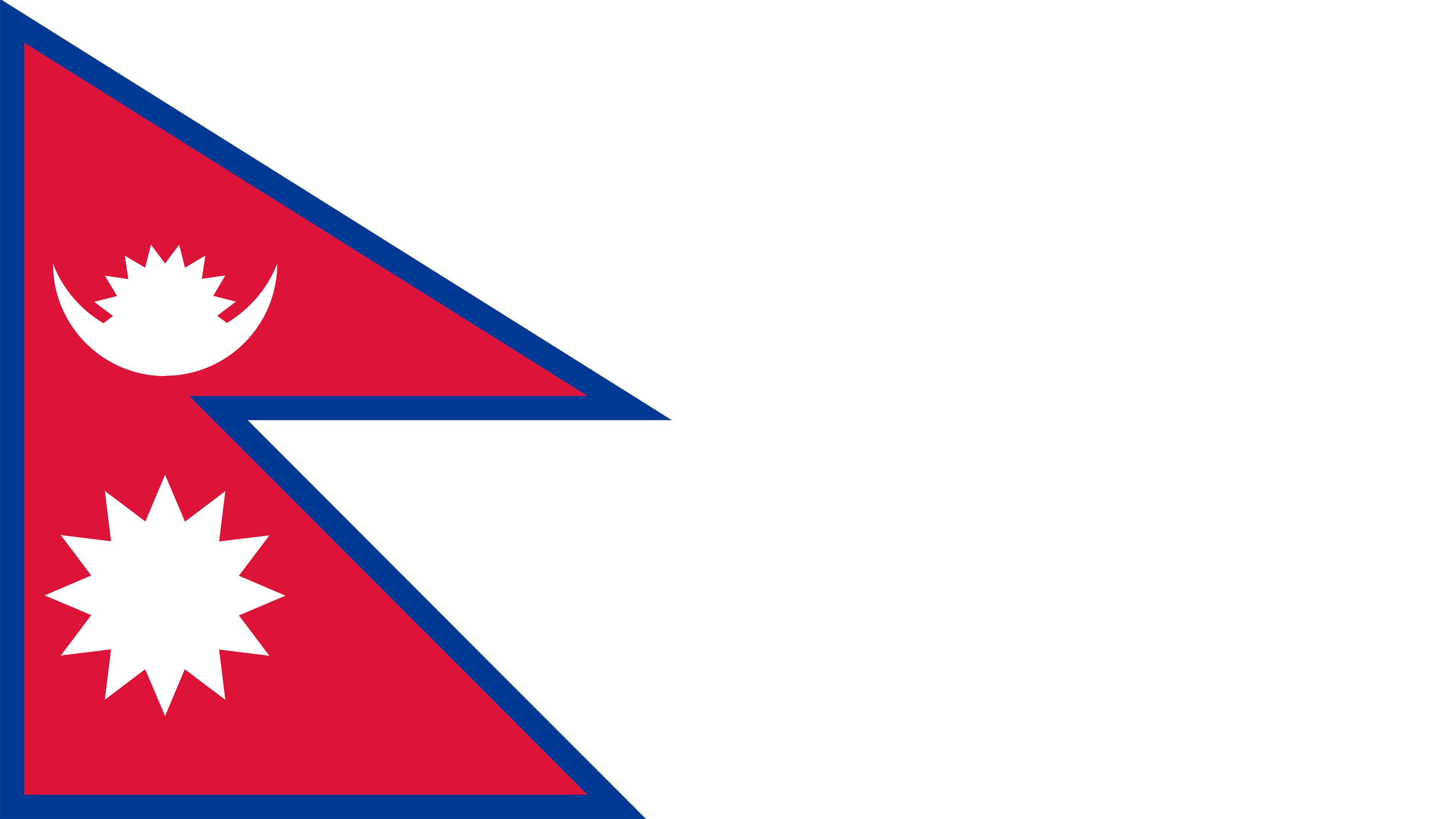 nepal flag uhd 4k wallpaper