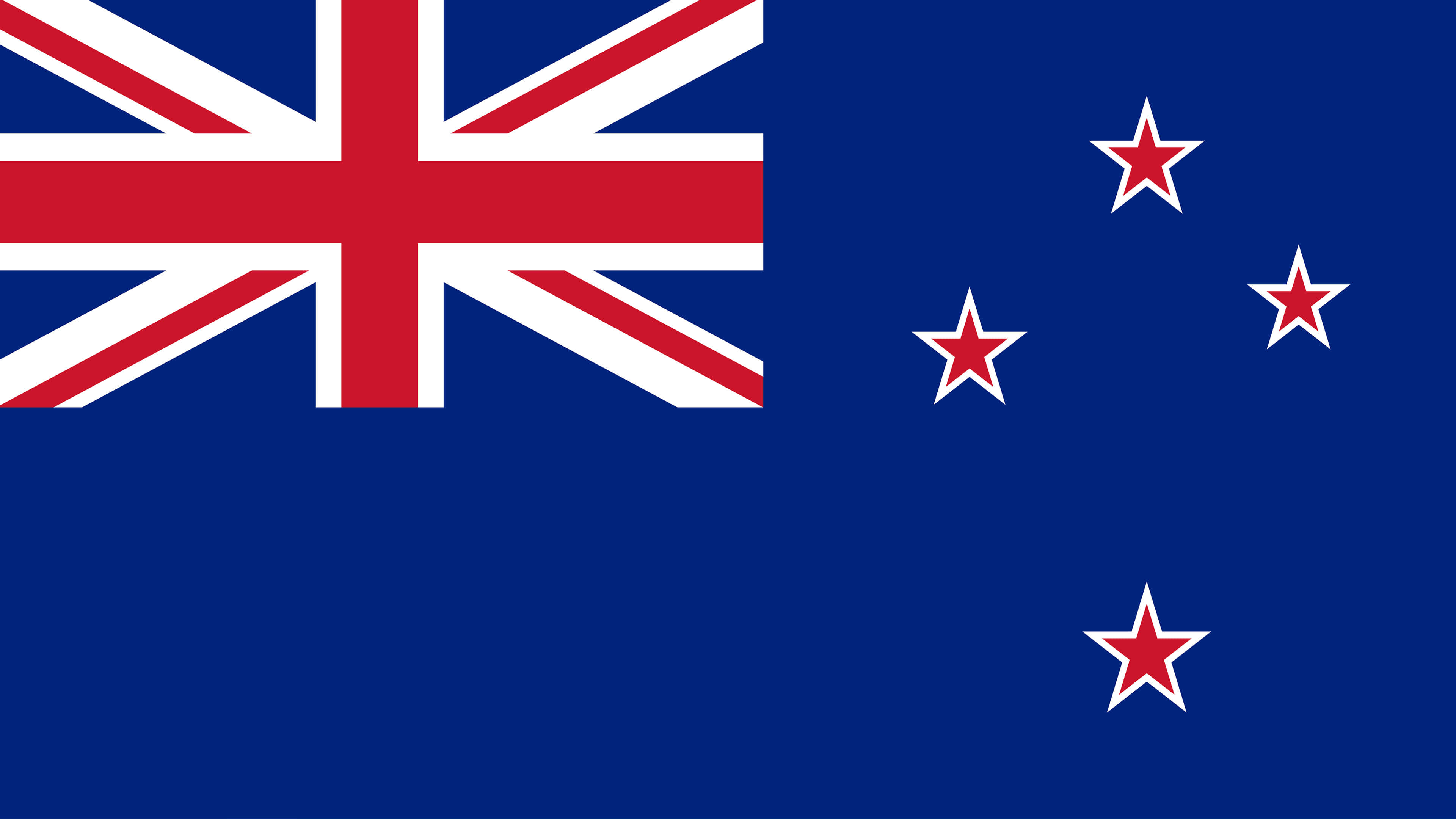 new zealand flag uhd 4k wallpaper