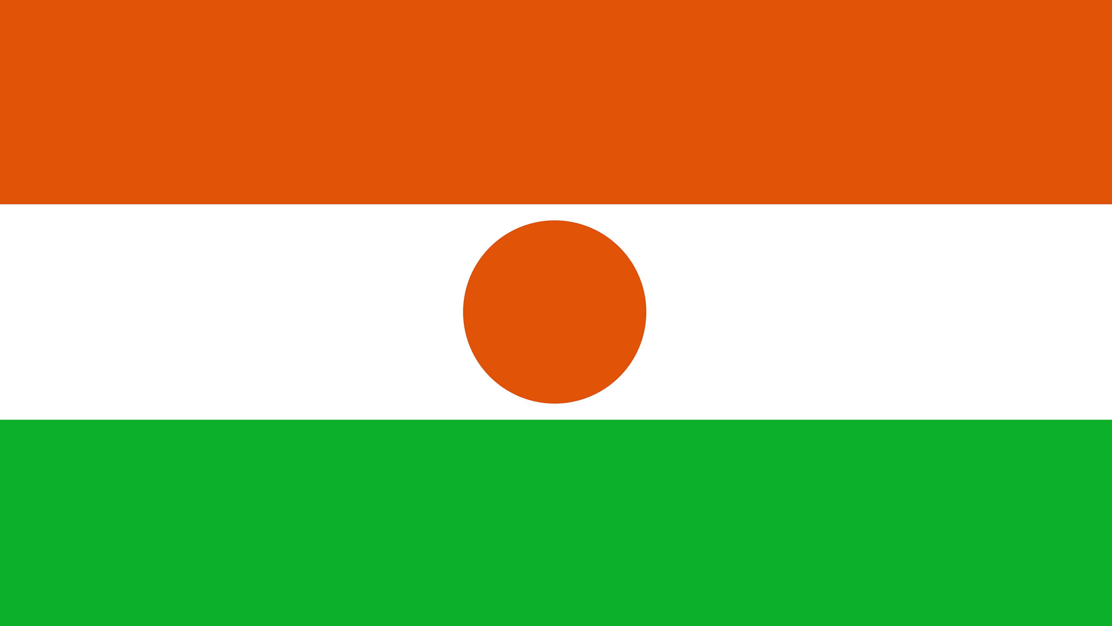 niger flag uhd 4k wallpaper