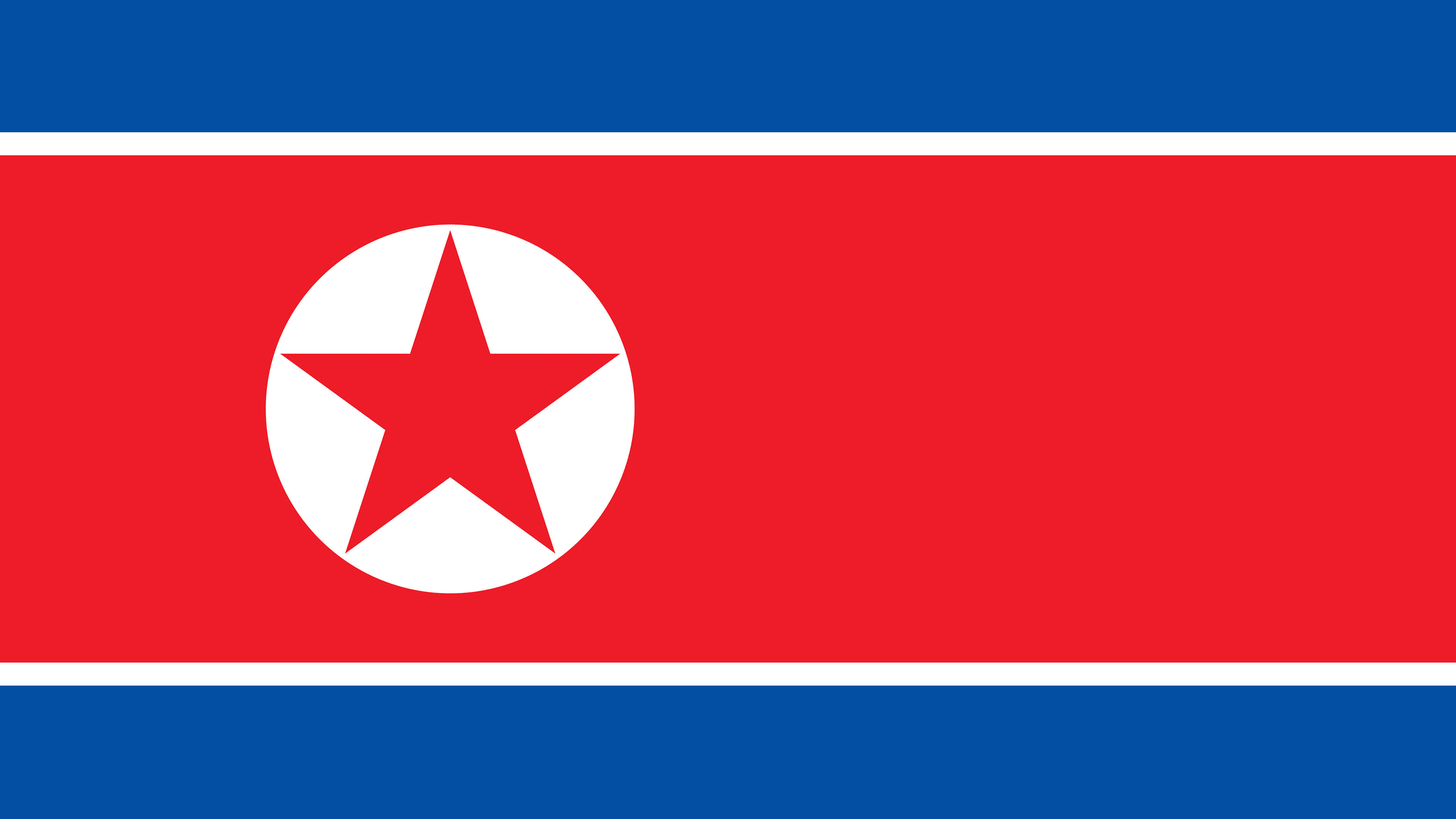 north korea dprk flag uhd 4k wallpaper