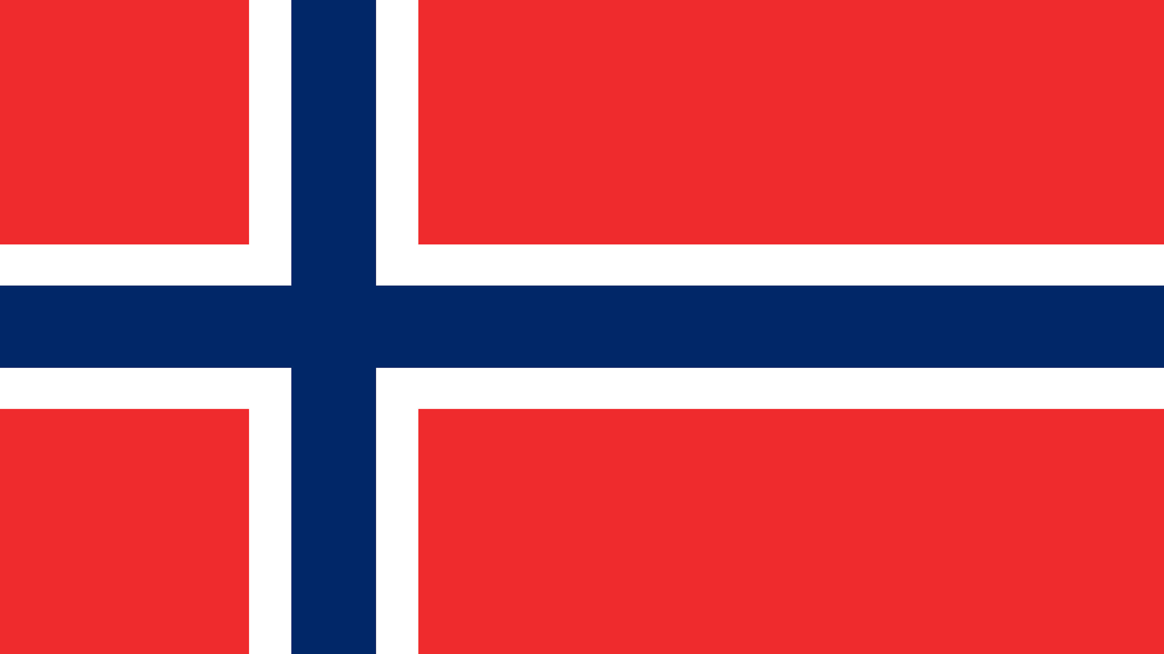 norway flag uhd 4k wallpaper