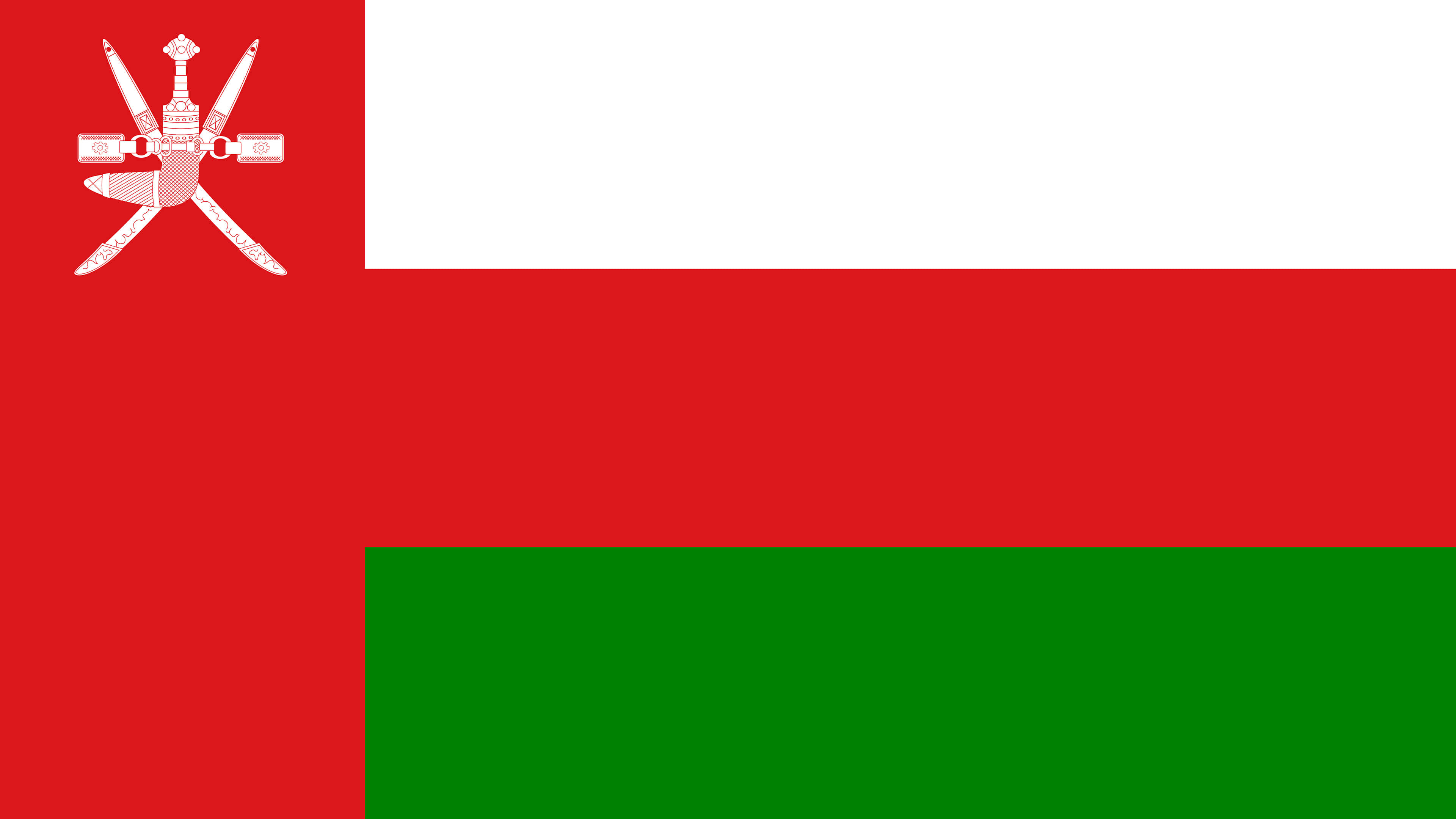 oman flag uhd 4k wallpaper