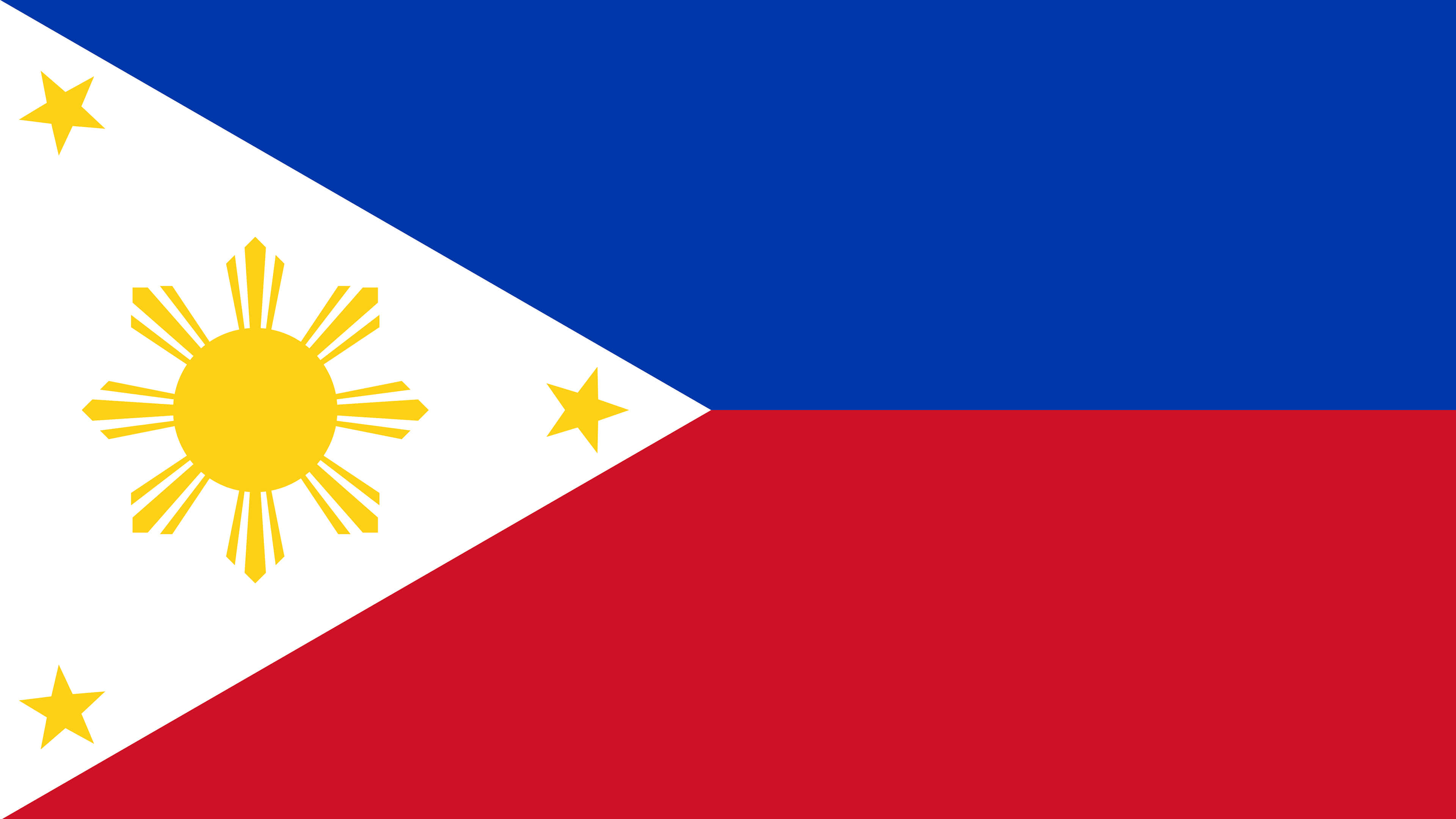 philippines flag uhd 4k wallpaper