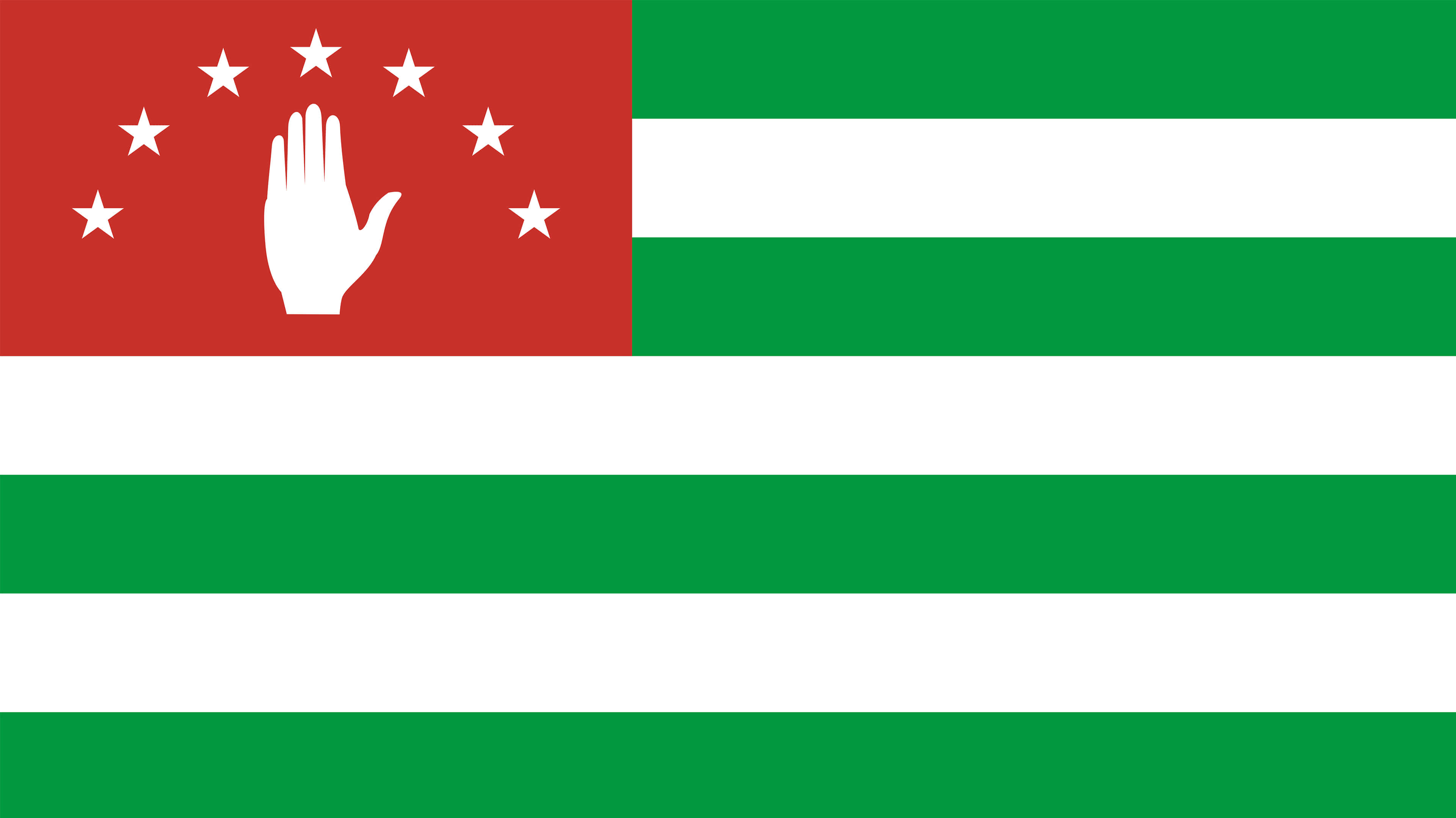 republic of abkhazia flag uhd 4k wallpaper