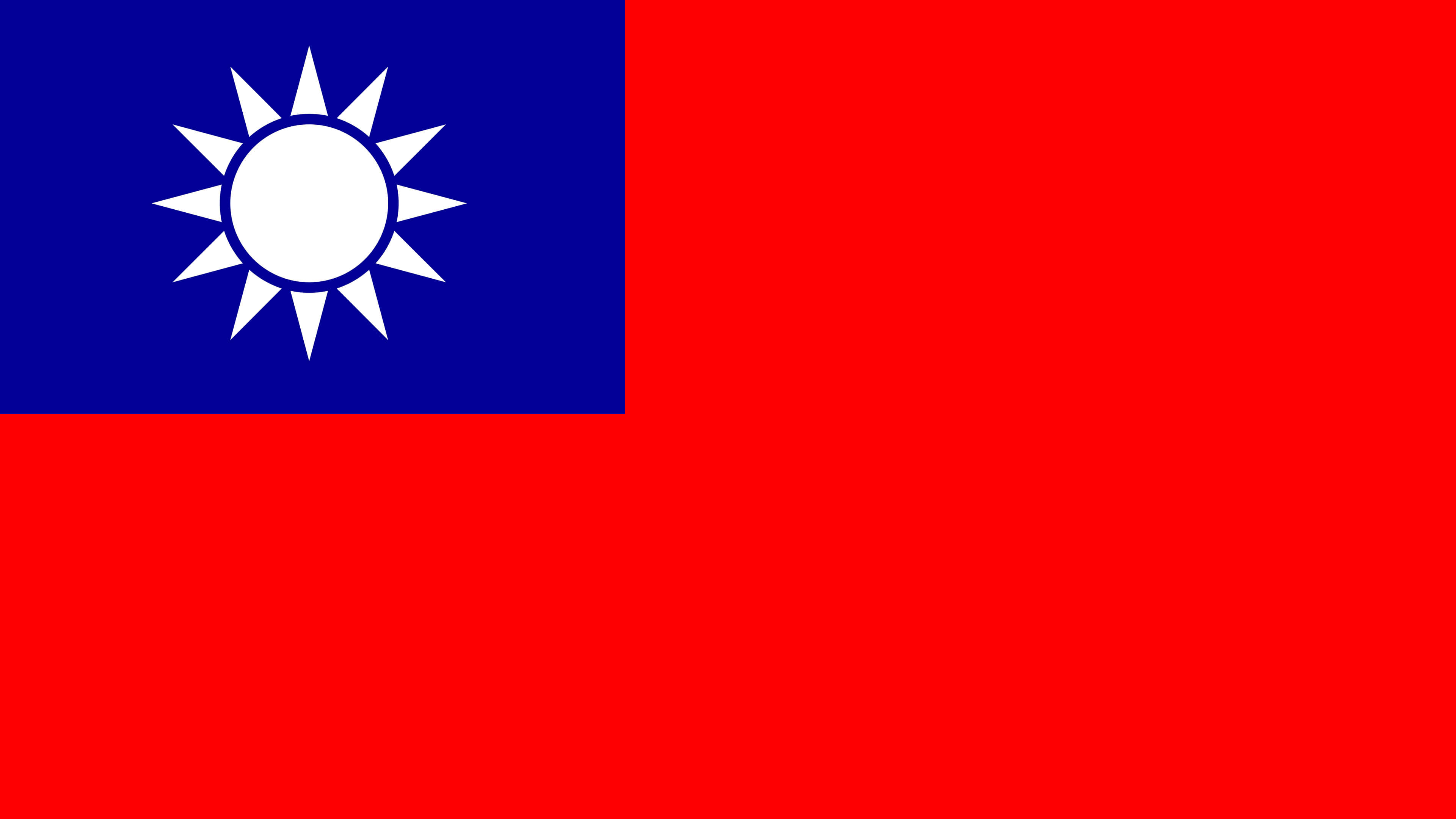 republic of china flag uhd 4k wallpaper