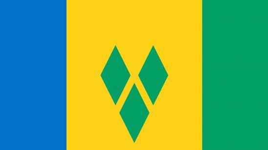 saint vincent and grenadines flag uhd 4k wallpaper