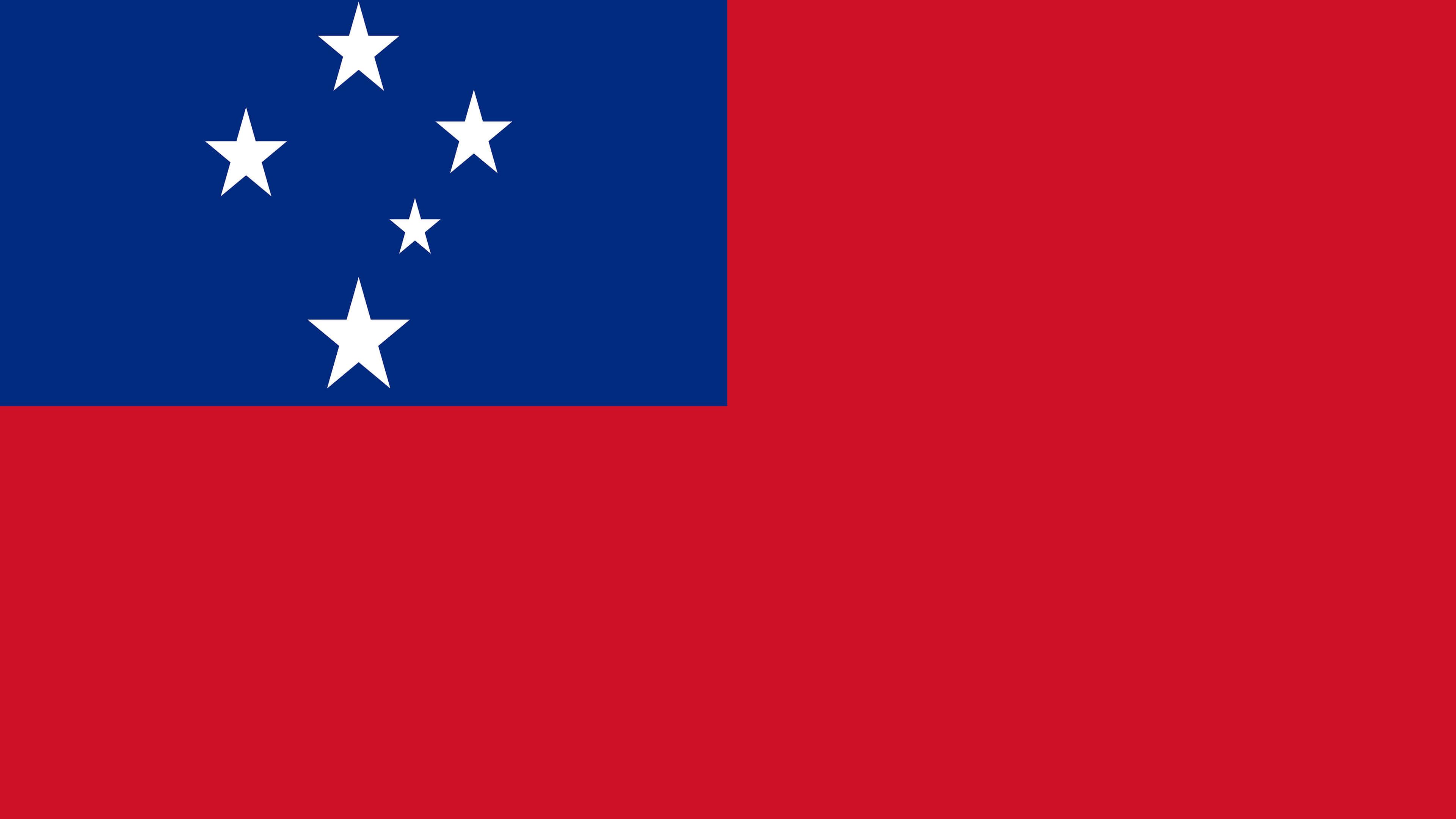 samoa flag uhd 4k wallpaper
