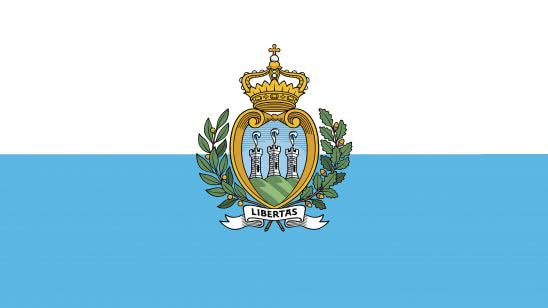 san marino flag uhd 4k wallpaper