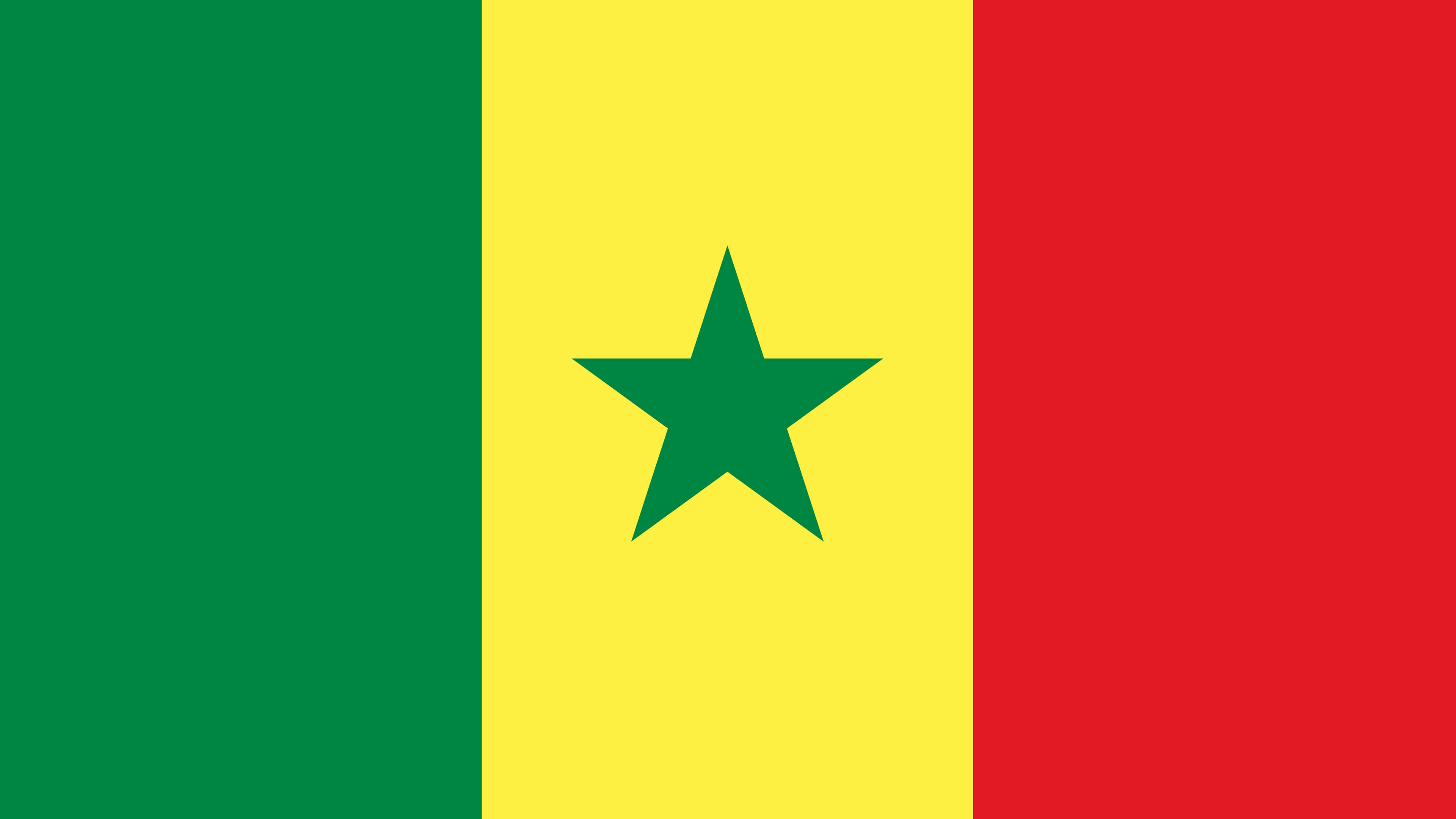 senegal flag uhd 4k wallpaper