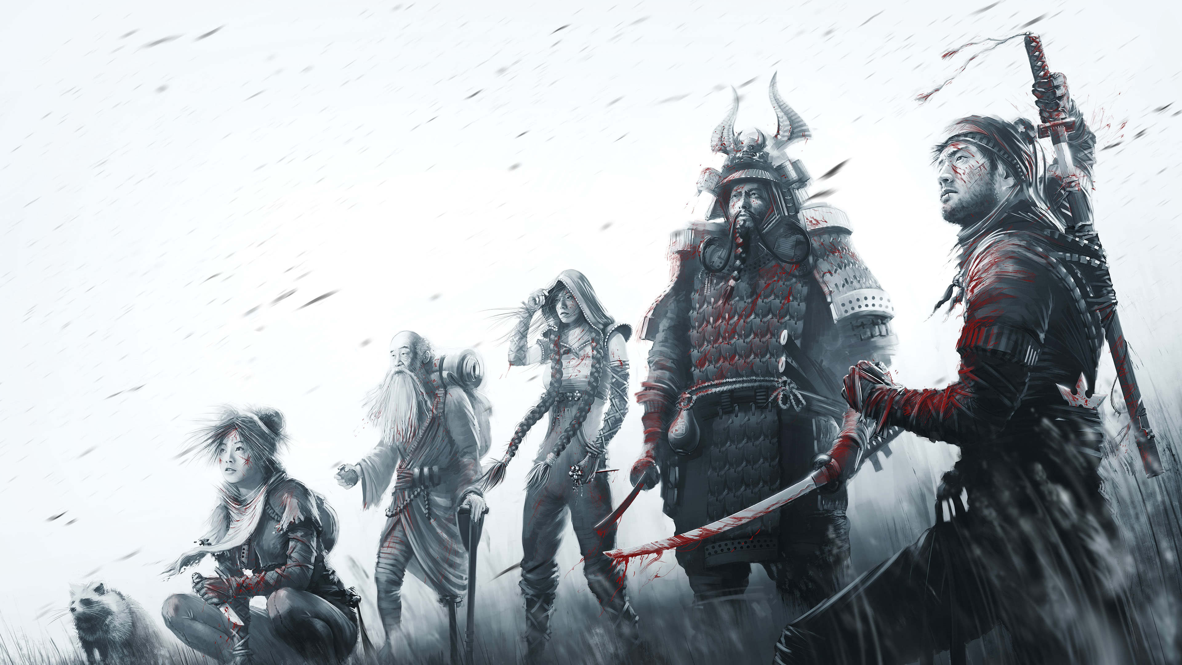 shadow tactics blades of the shogun uhd 4k wallpaper