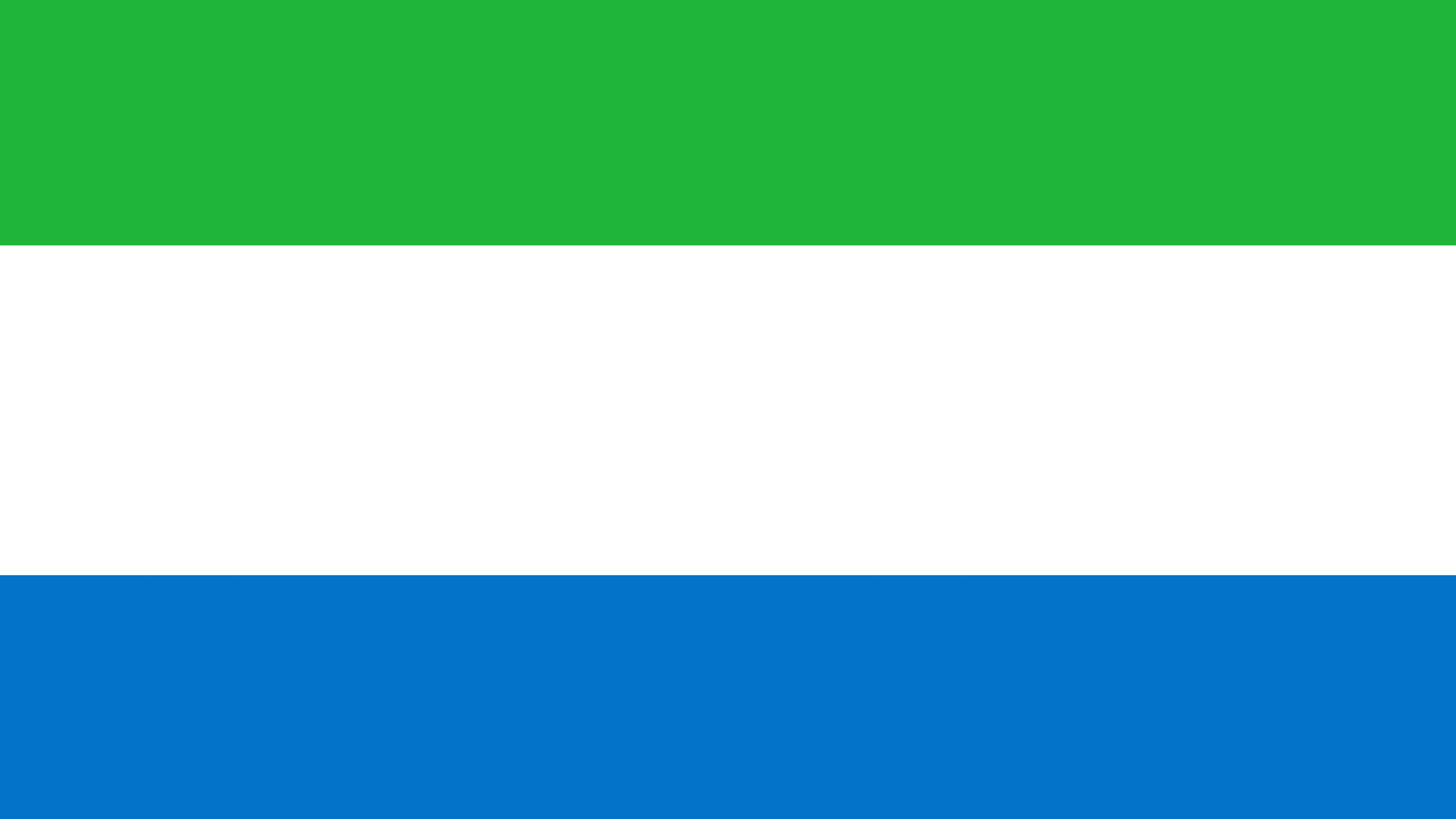 sierra leone flag uhd 4k wallpaper