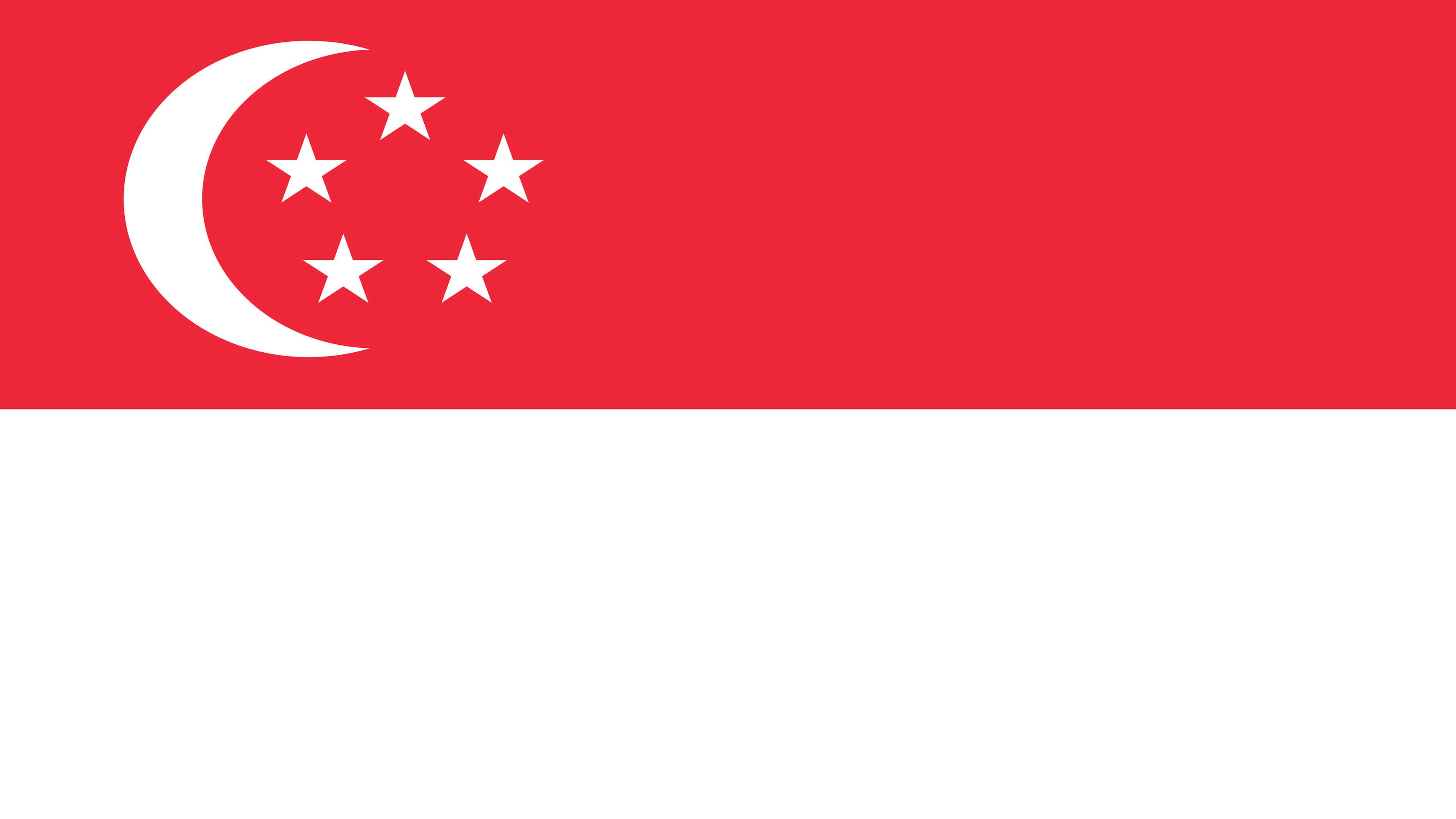 singapore flag uhd 4k wallpaper