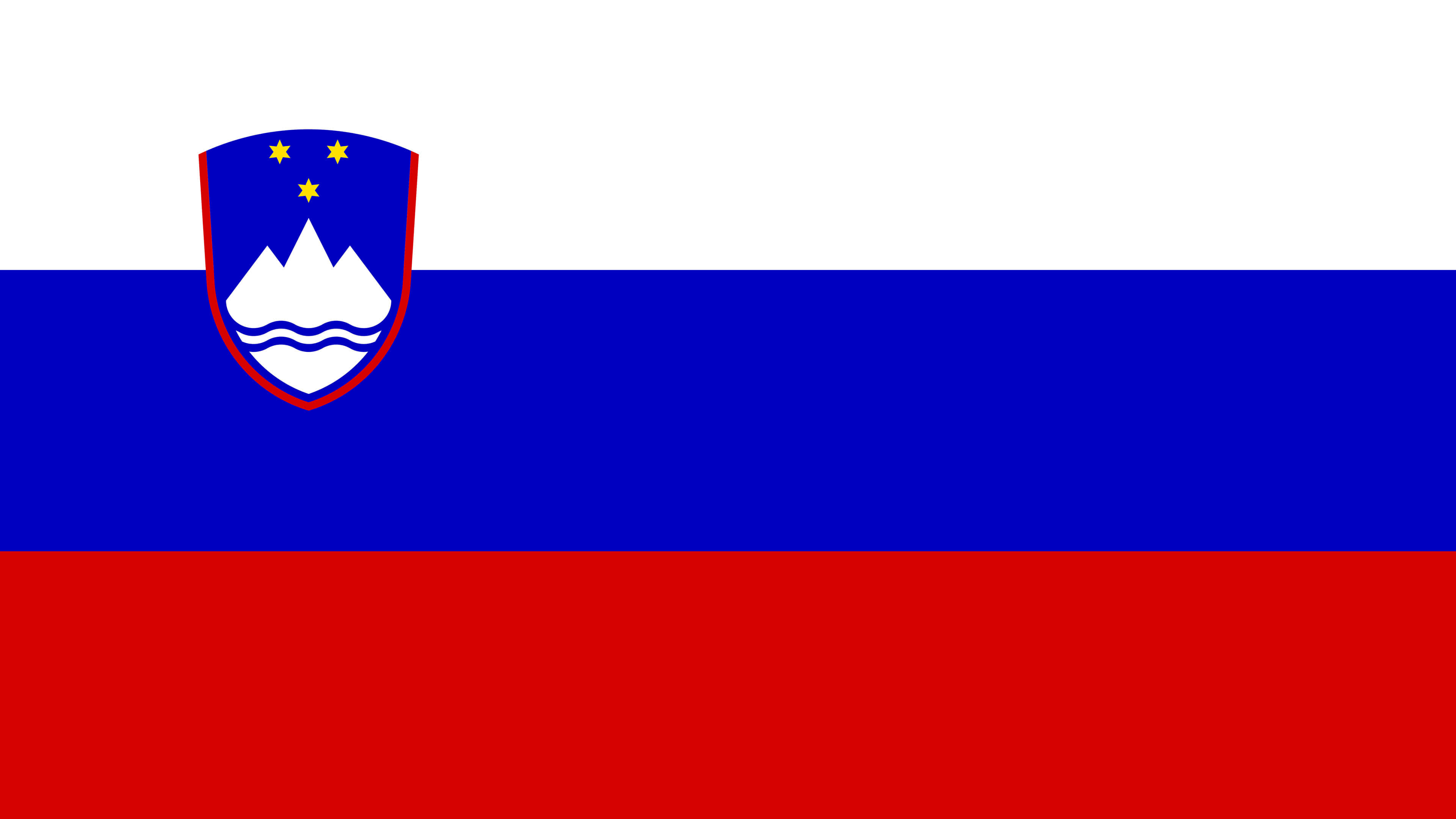 slovenia flag uhd 4k wallpaper