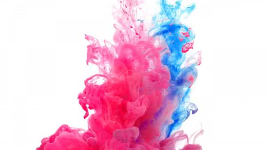 smoke blue and pink uhd 4k wallpaper