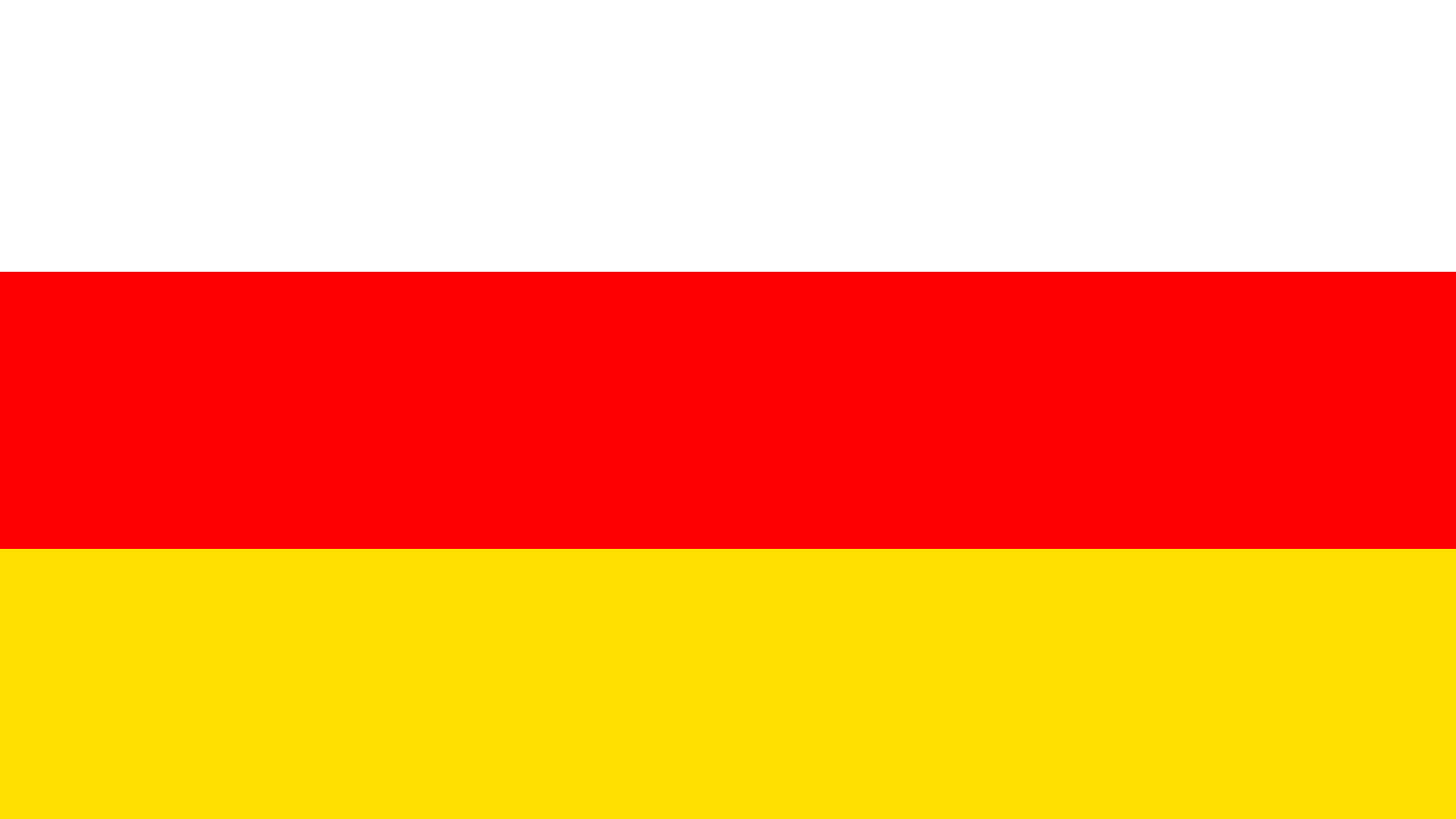 south ossetia flag uhd 4k wallpaper