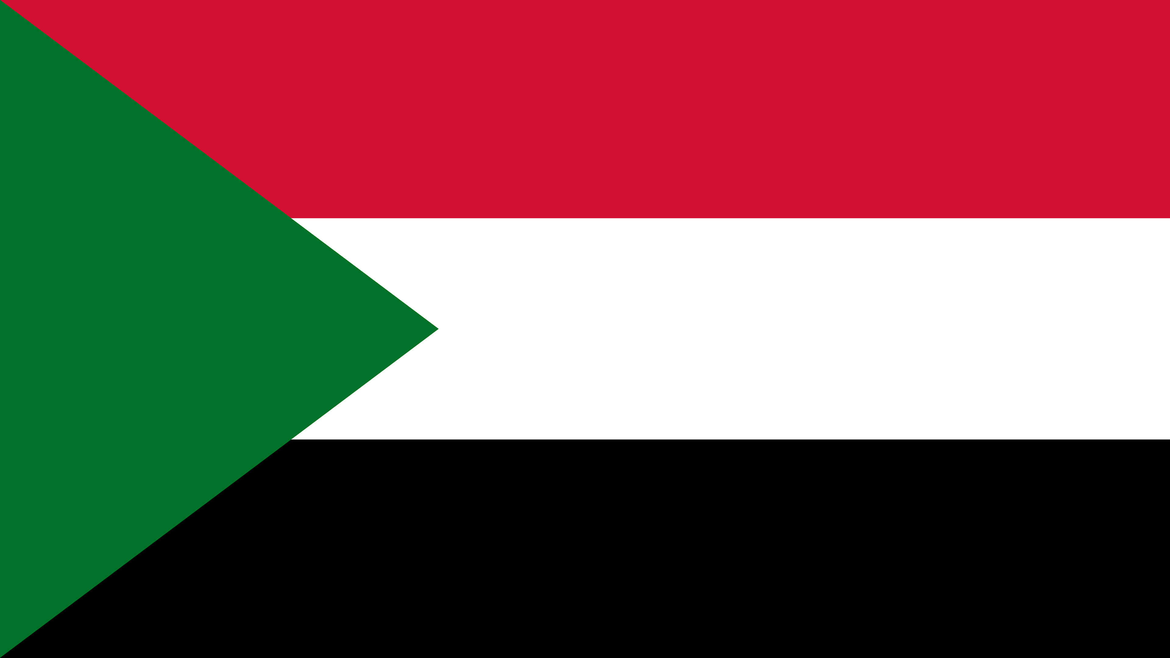 sudan flag uhd 4k wallpaper