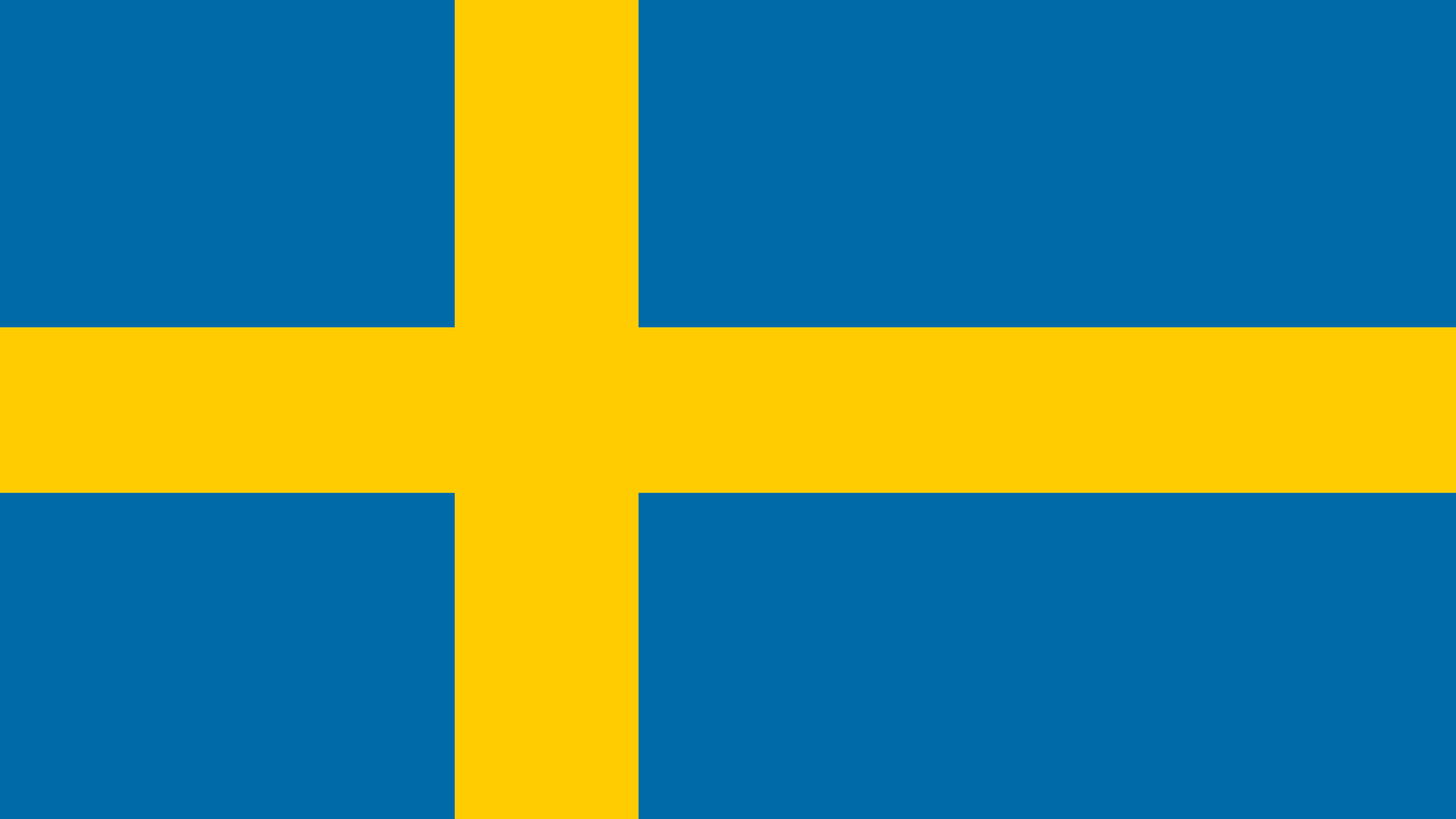 sweden flag uhd 4k wallpaper