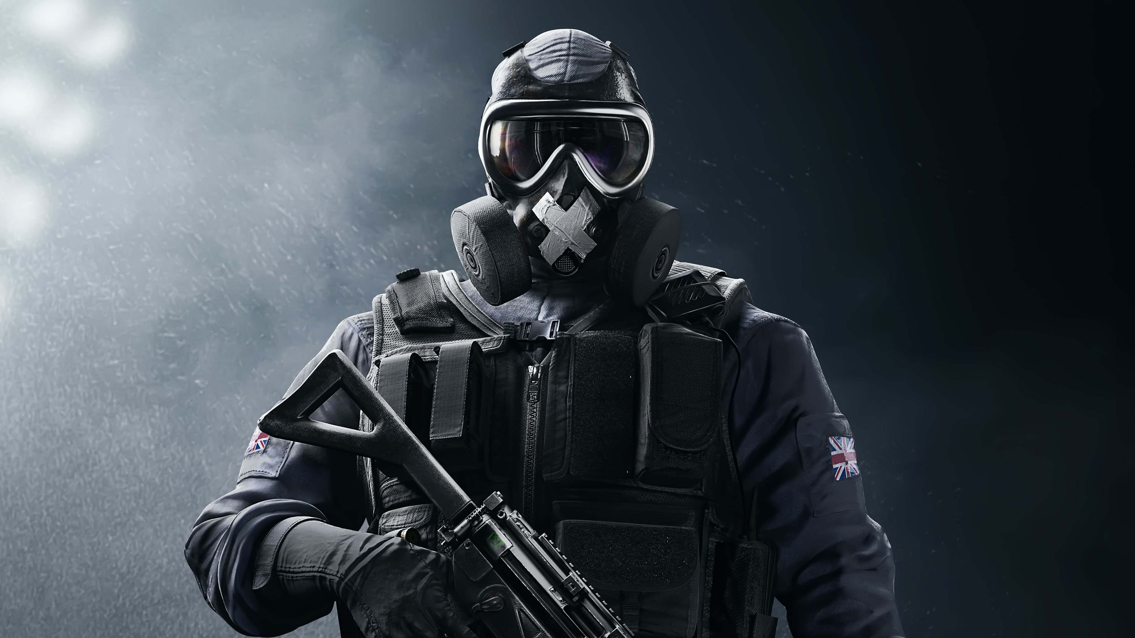 tom clancys rainbow six siege mute uhd 4k wallpaper
