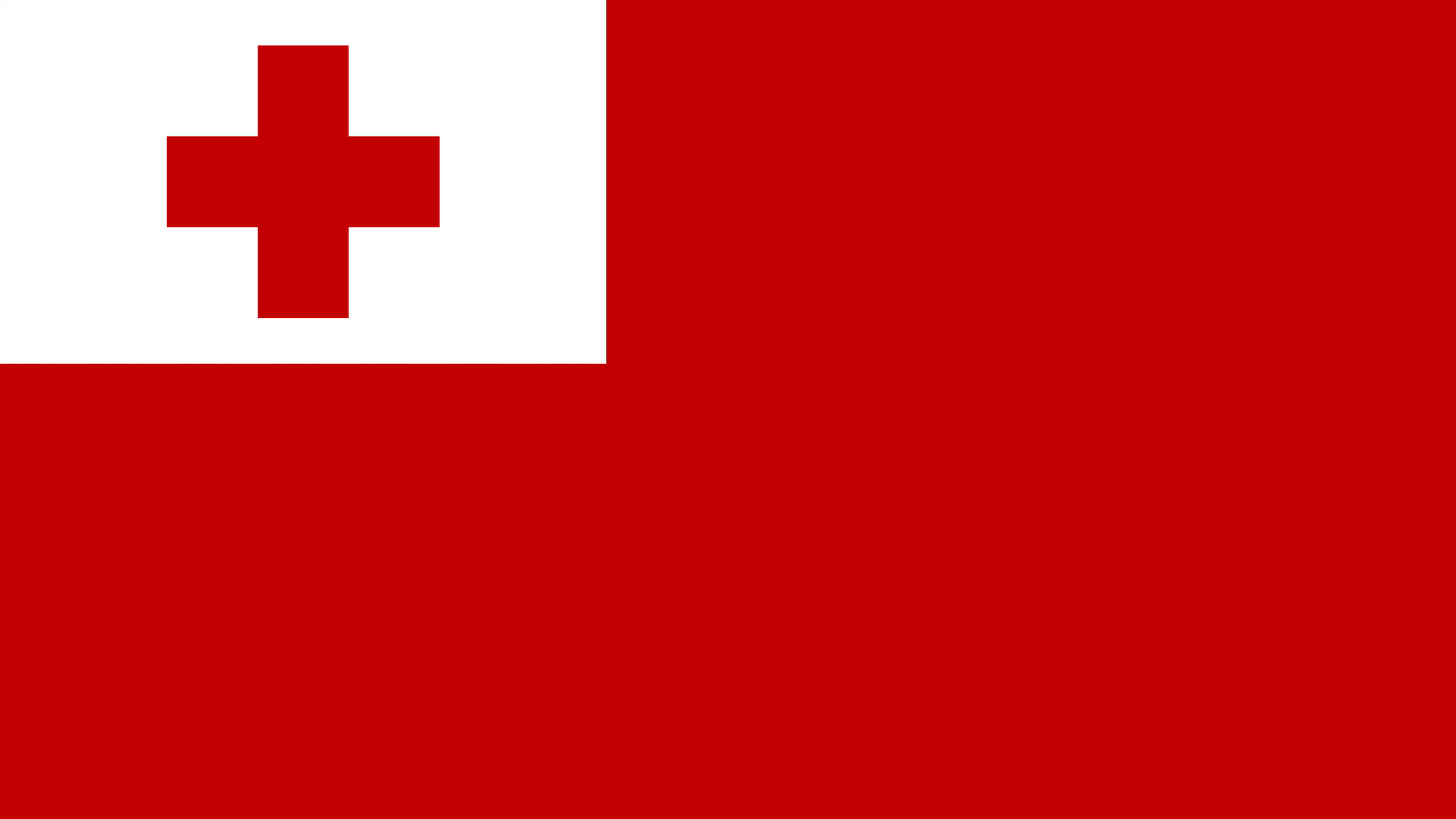 tonga flag uhd 4k wallpaper