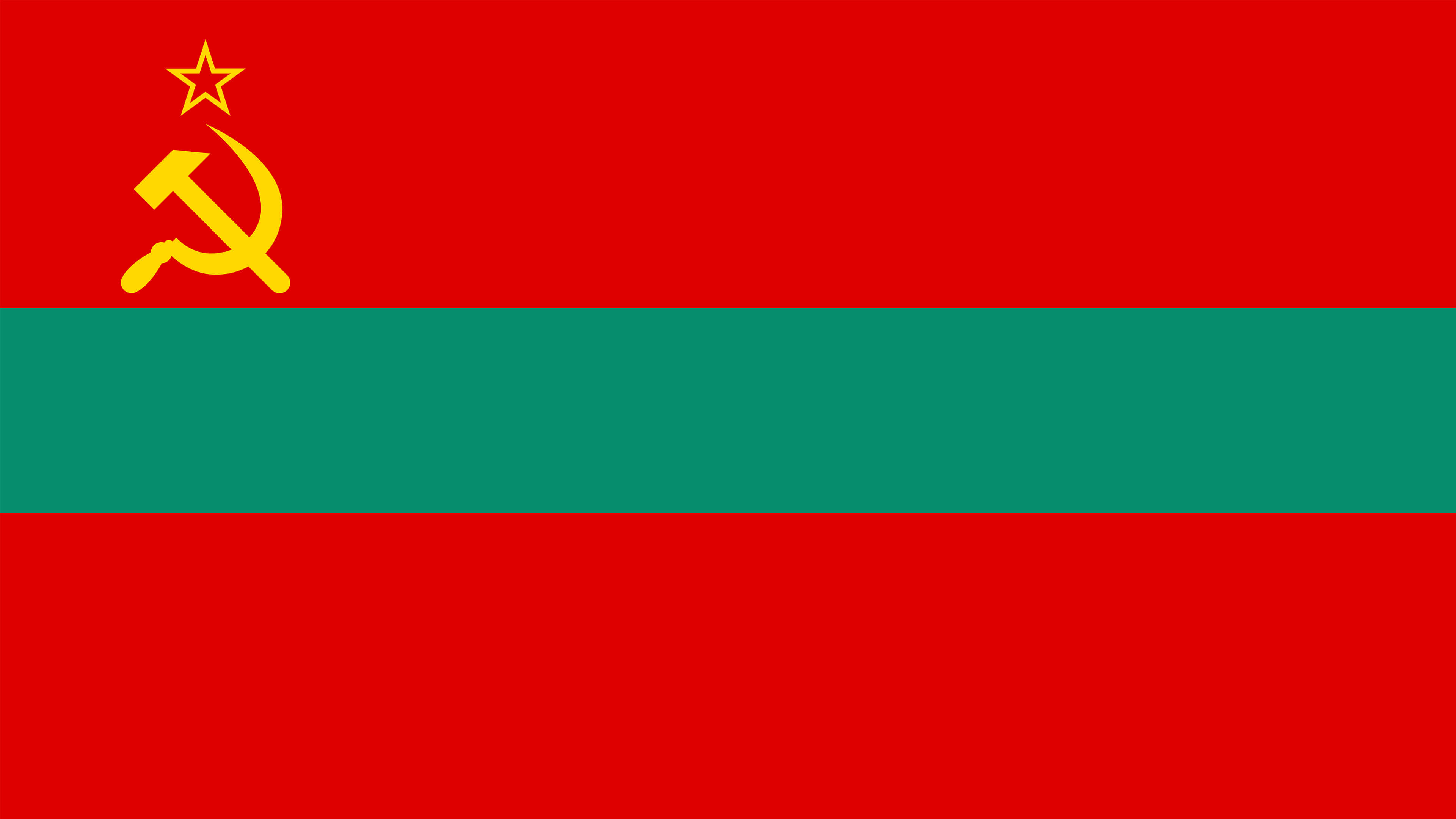 transnistria flag uhd 4k wallpaper