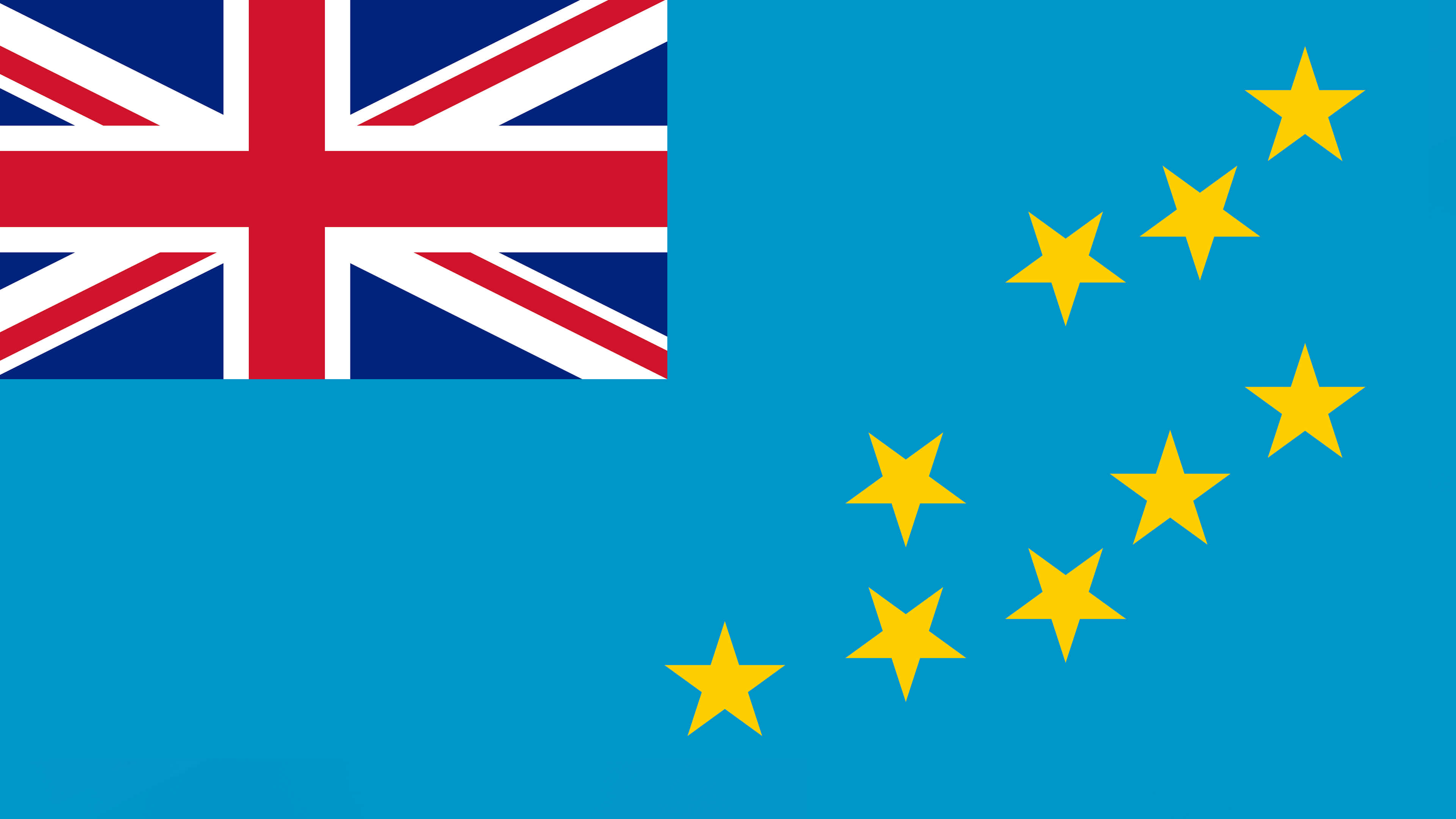 tuvalu flag uhd 4k wallpaper