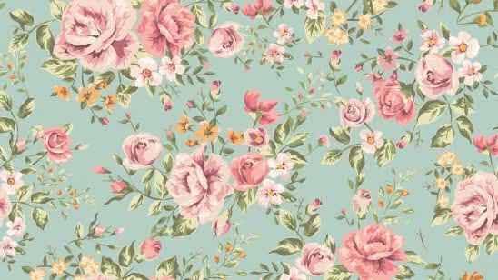 vintage floral pattern uhd 4k wallpaper