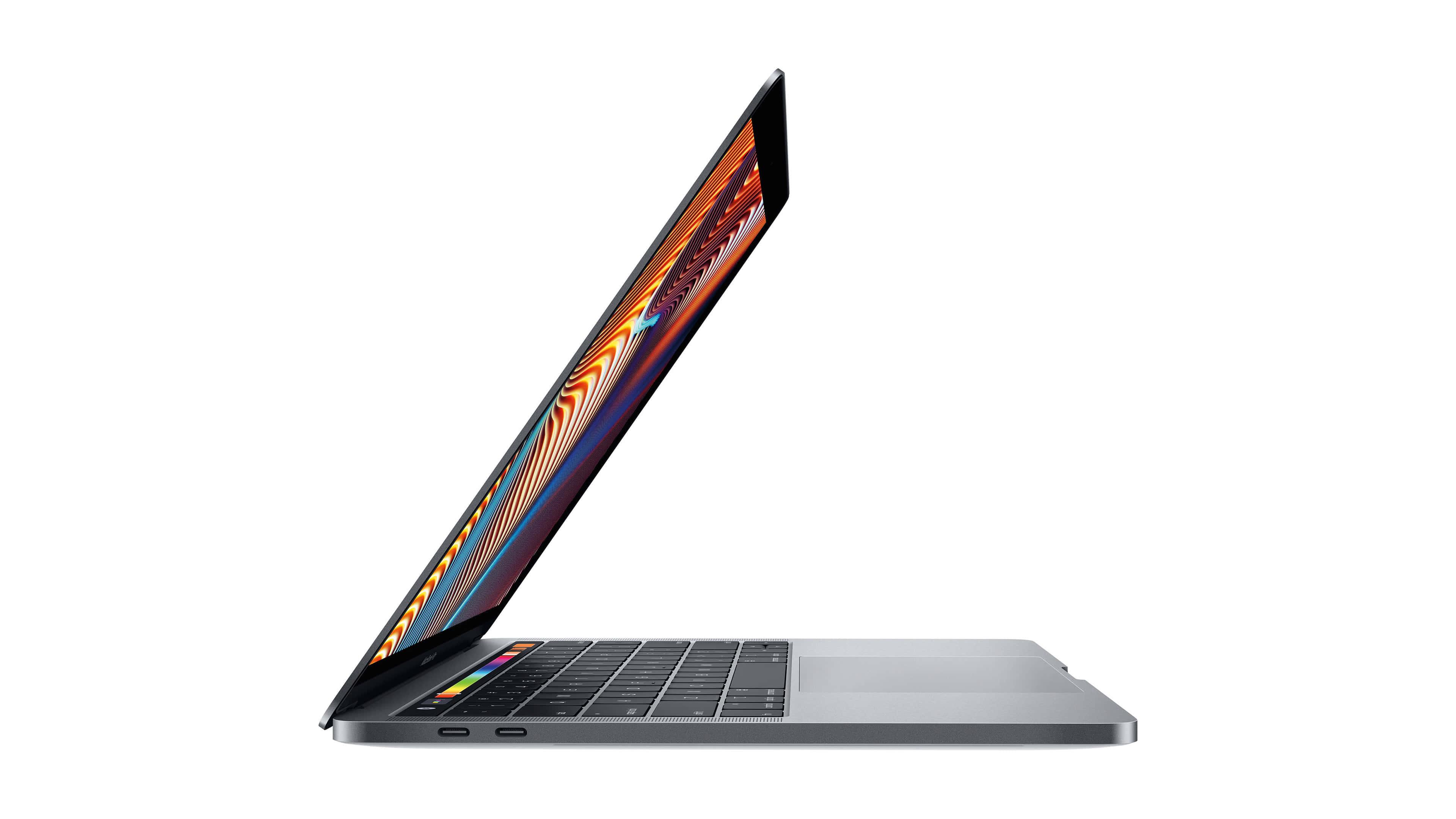 apple macbook pro 13.3 side uhd 4k wallpaper