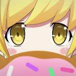 bakemonogatari shinobu oshino eyes uhd 4k wallpaper