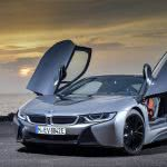 bmw i8 roadster silver uhd 4k wallpaper