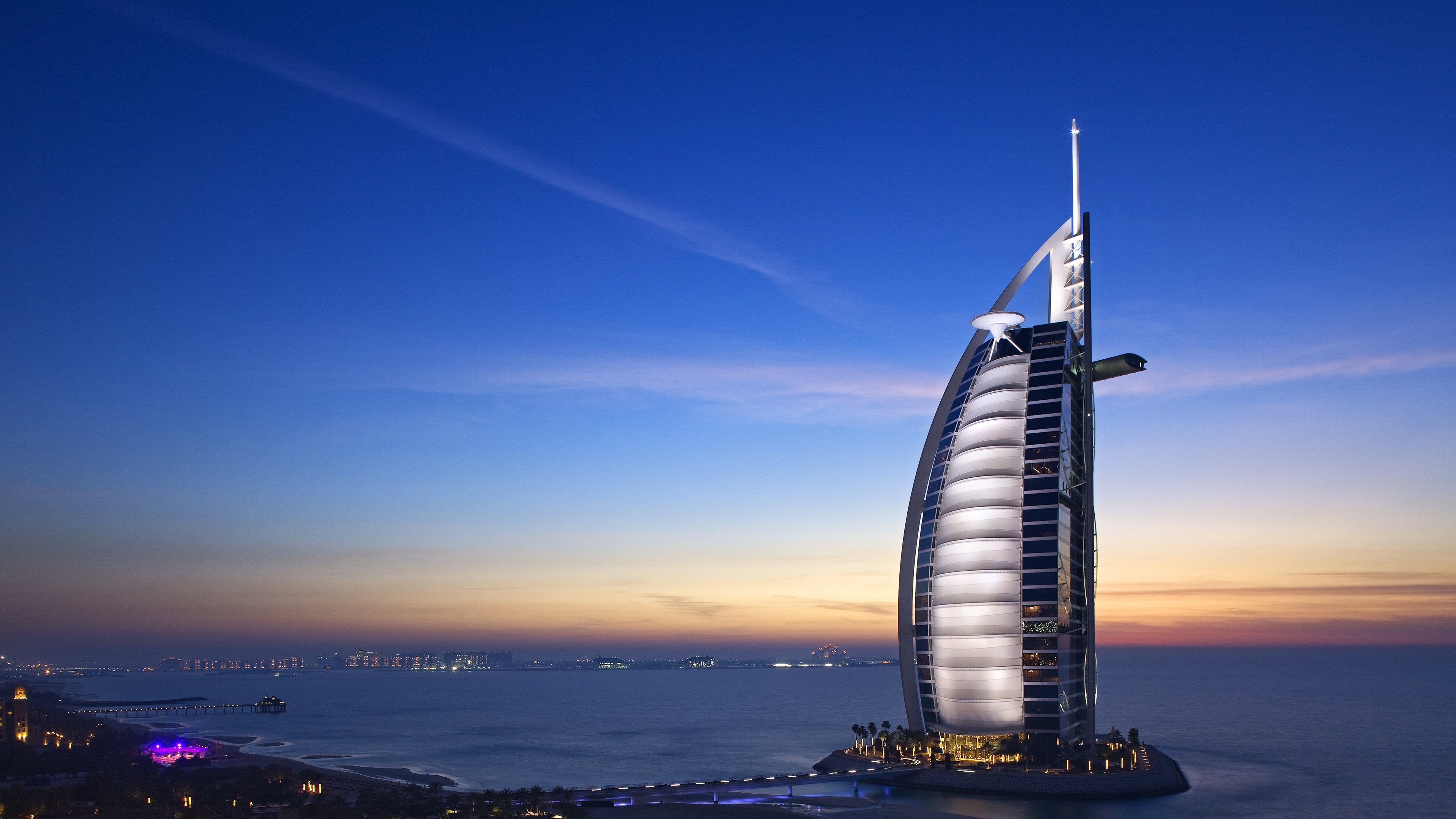 burj al arab dubai united arab emirates uhd 4k wallpaper