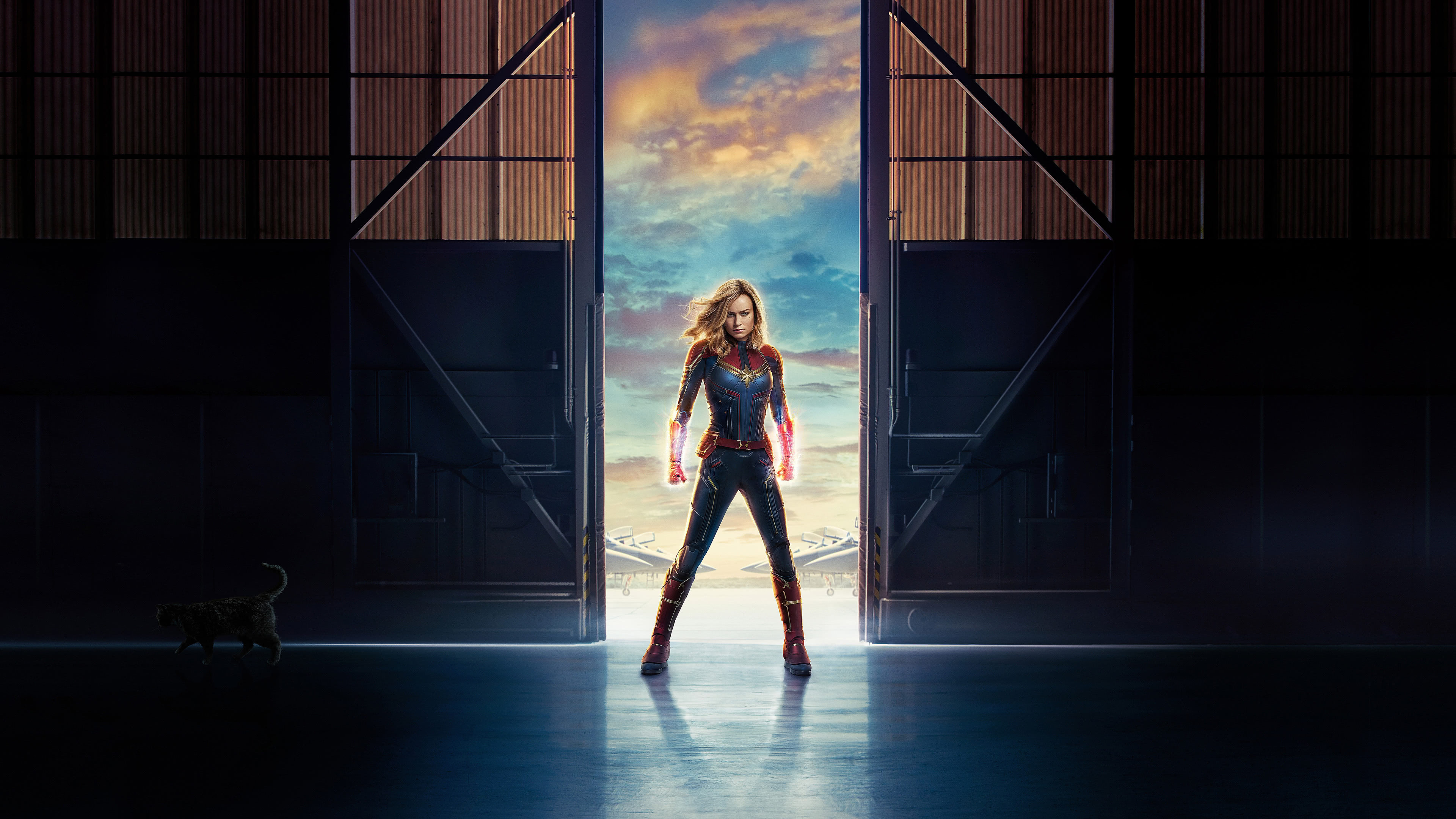 captain marvel uhd 4k wallpaper