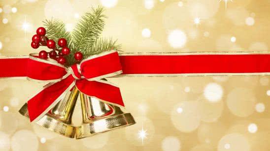 christmas bells uhd 4k wallpaper