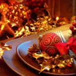 christmas decorations red uhd 4k wallpaper