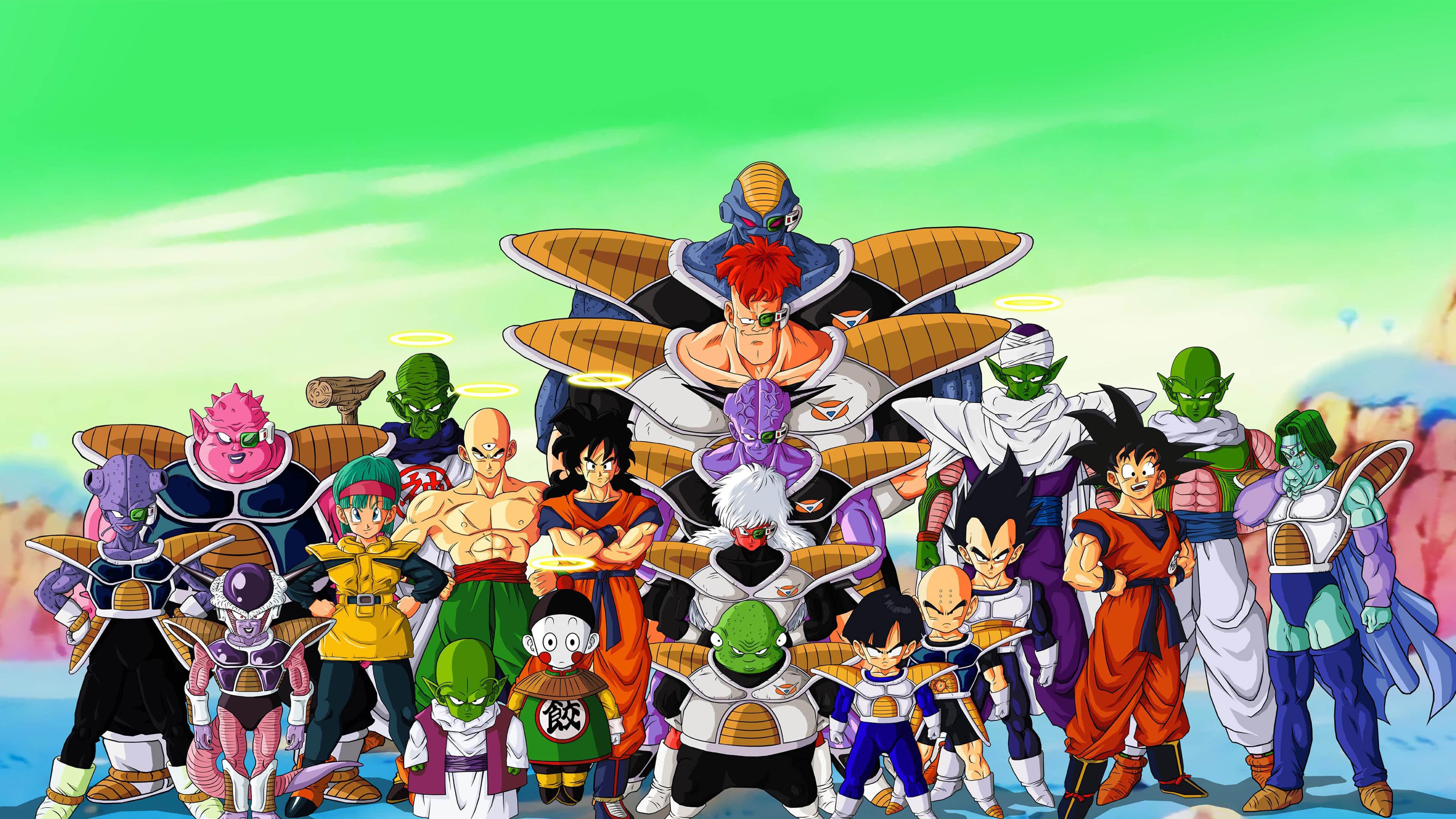 Dragon Ball Z Characters Uhd 4k Wallpaper Pixelz