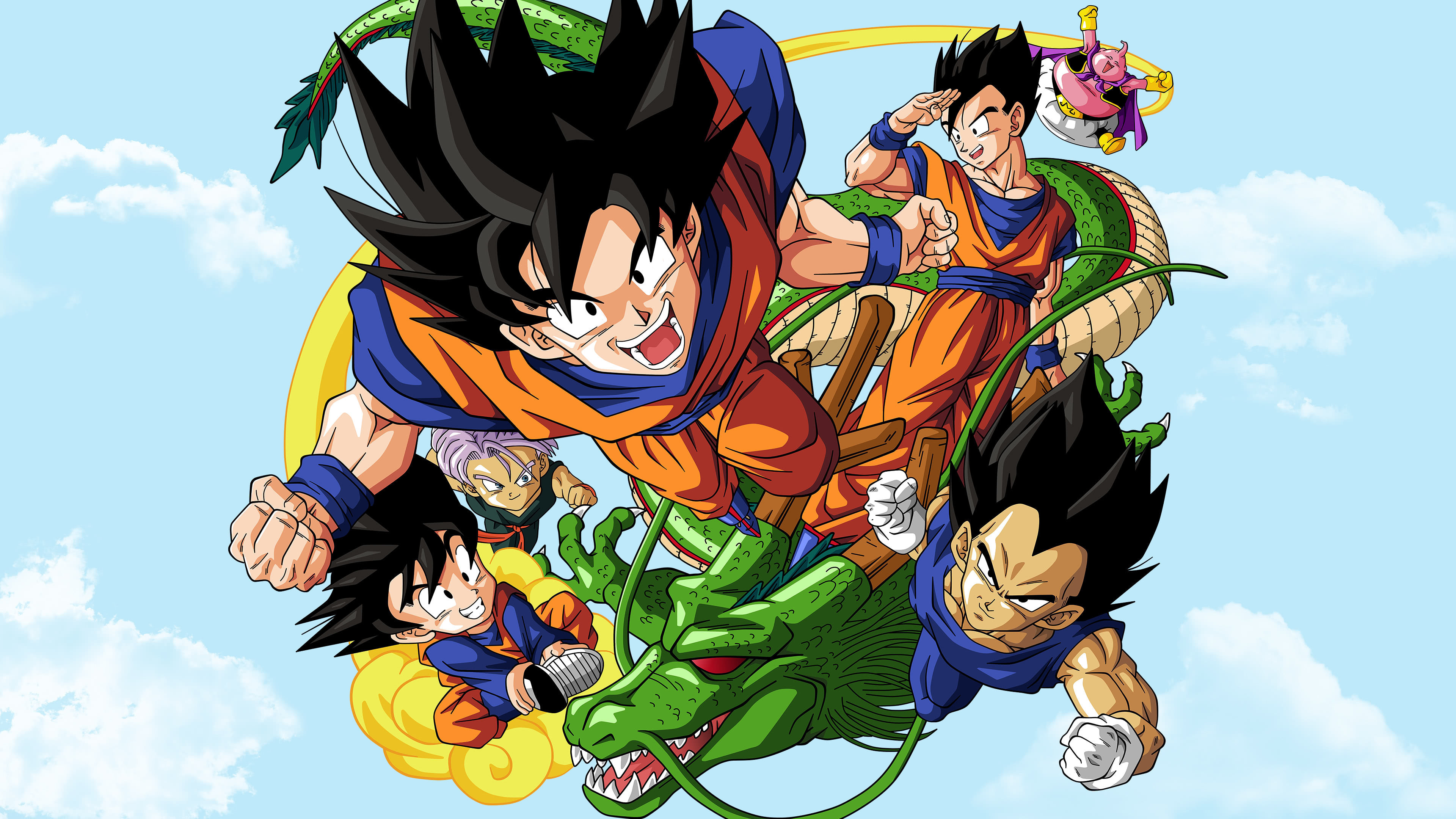 dragon ball z poster uhd 4k wallpaper