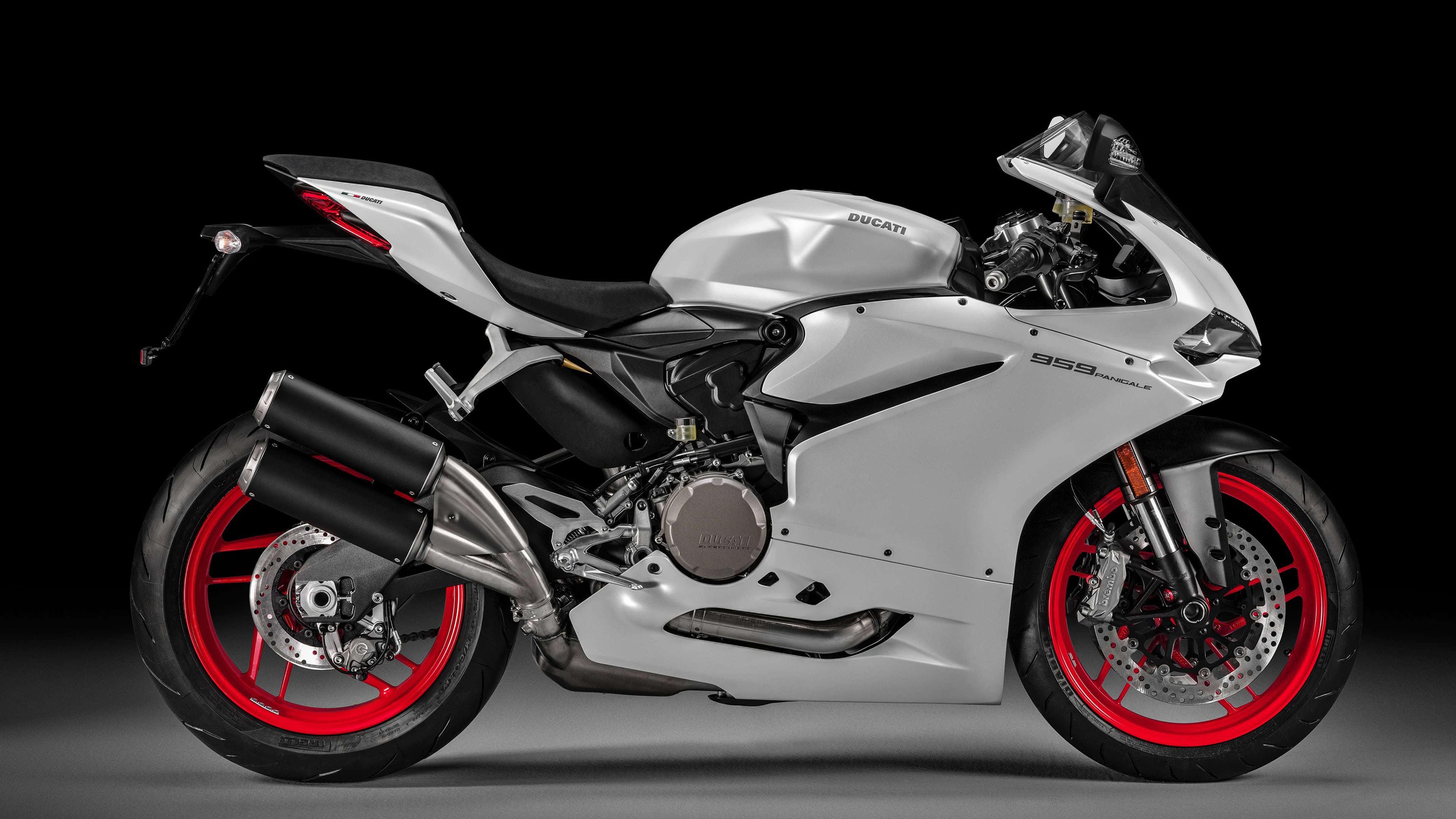 Ducati 959 Panigale UHD 4K Wallpaper