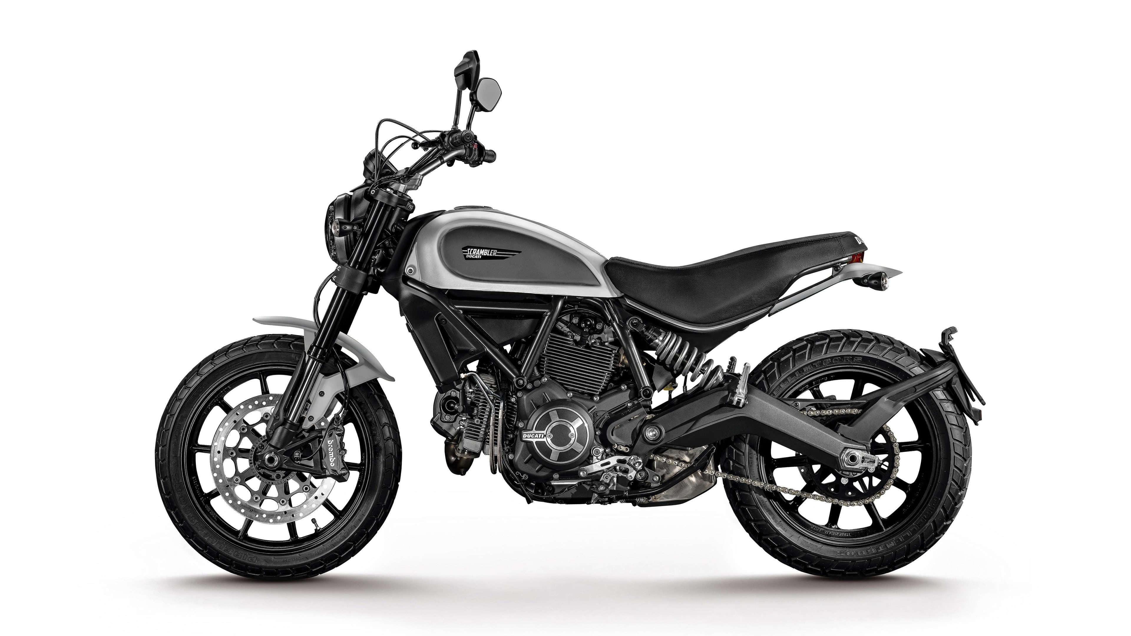 Ducati Scrambler Icon UHD 4K Wallpaper