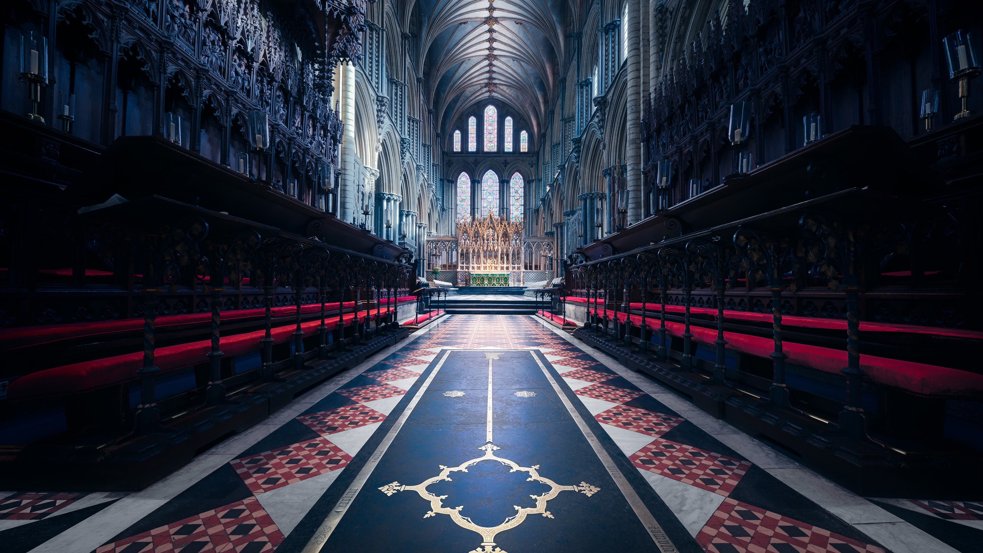 ely cathedral cambridgeshire england uhd 4k wallpaper