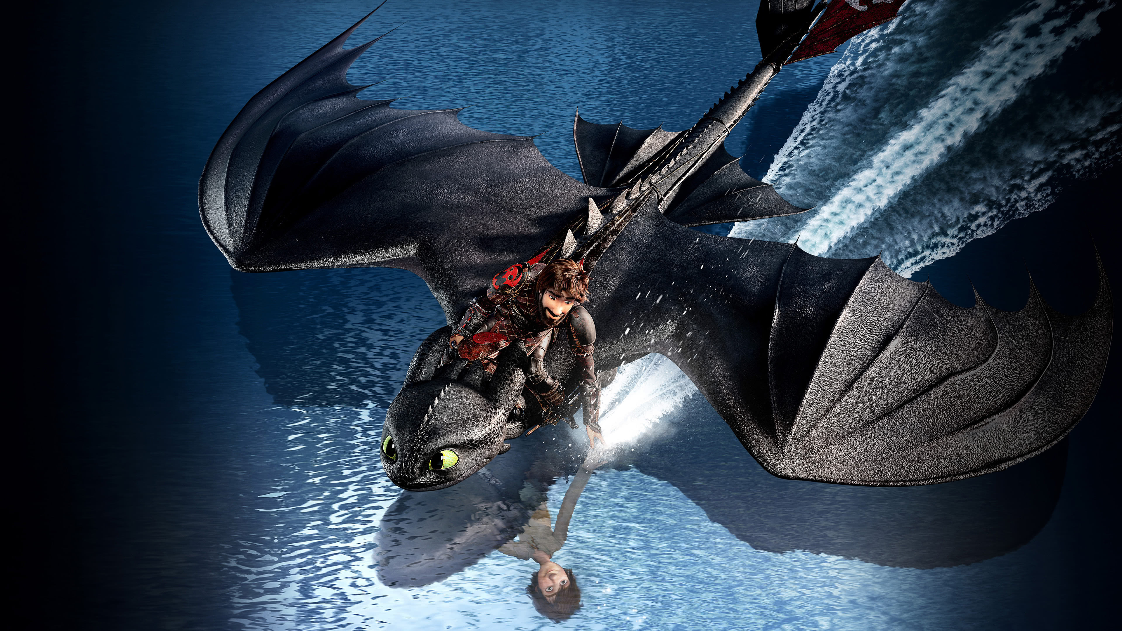 how to train your dragon the hidden world uhd 4k wallpaper