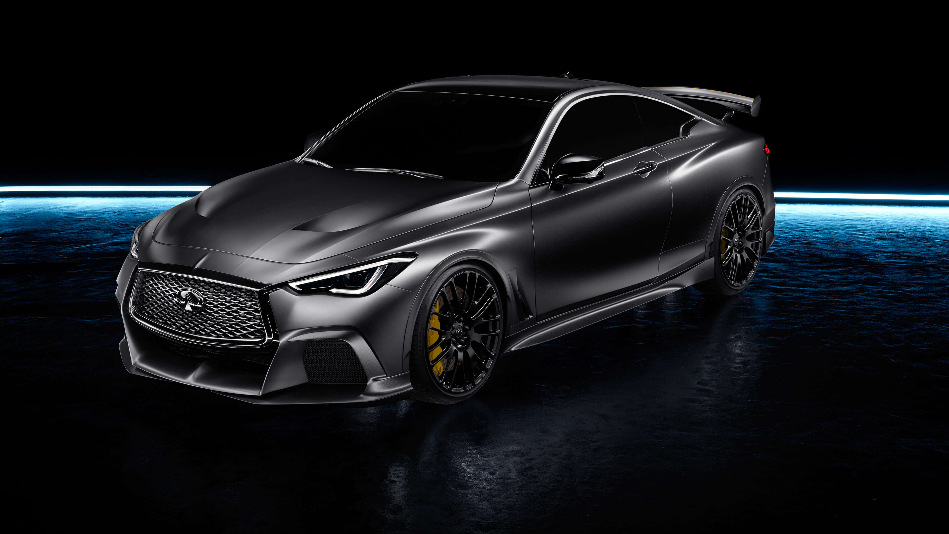 infiniti q60 project black uhd 4k wallpaper